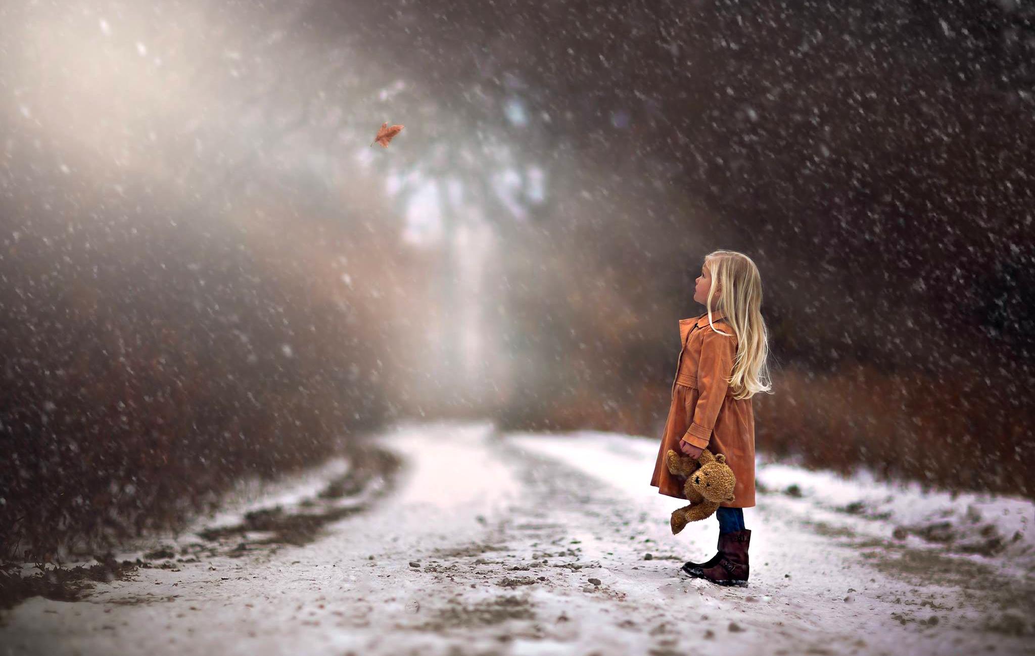 Зима грустно картинки
