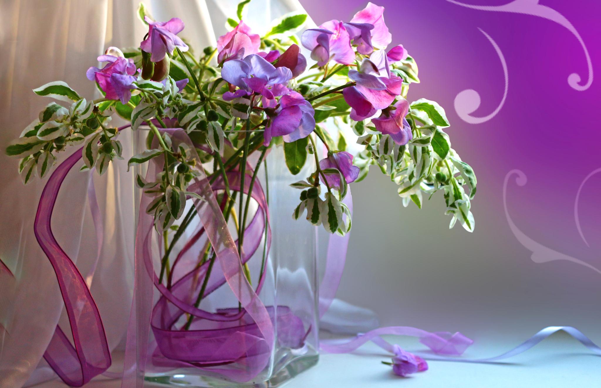 Картинки красивых цветов в вазах, открытки