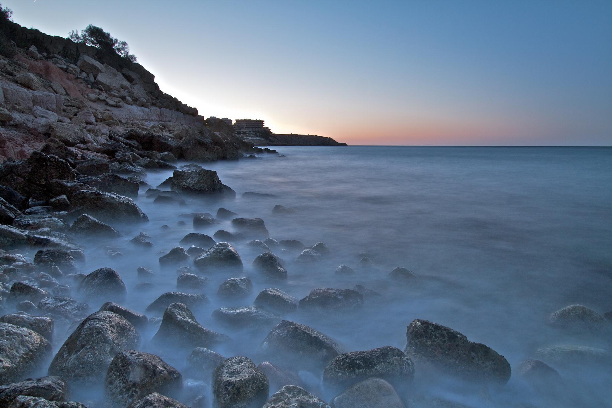 скала море камни rock sea stones  № 45198  скачать