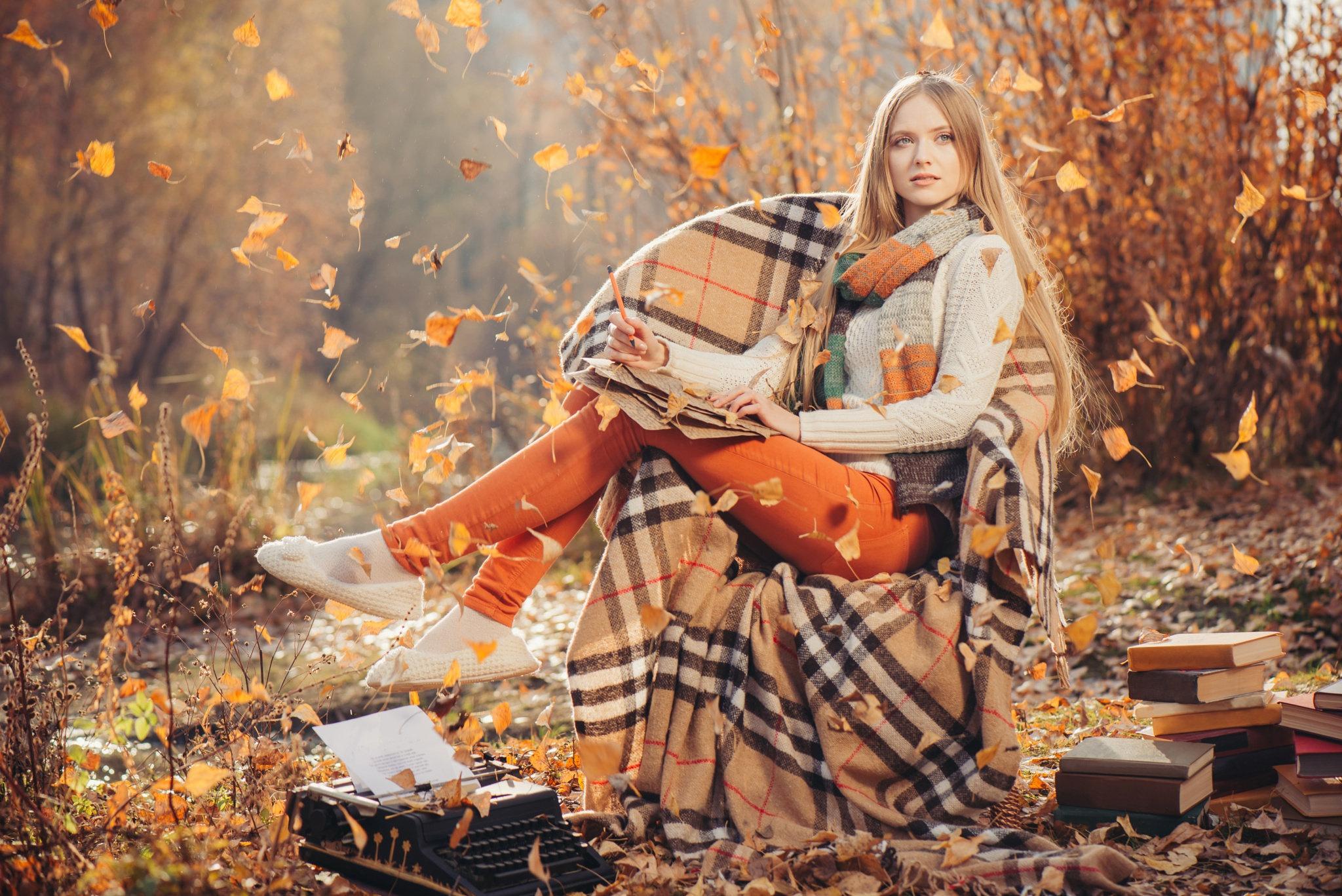 Осень и плед картинки