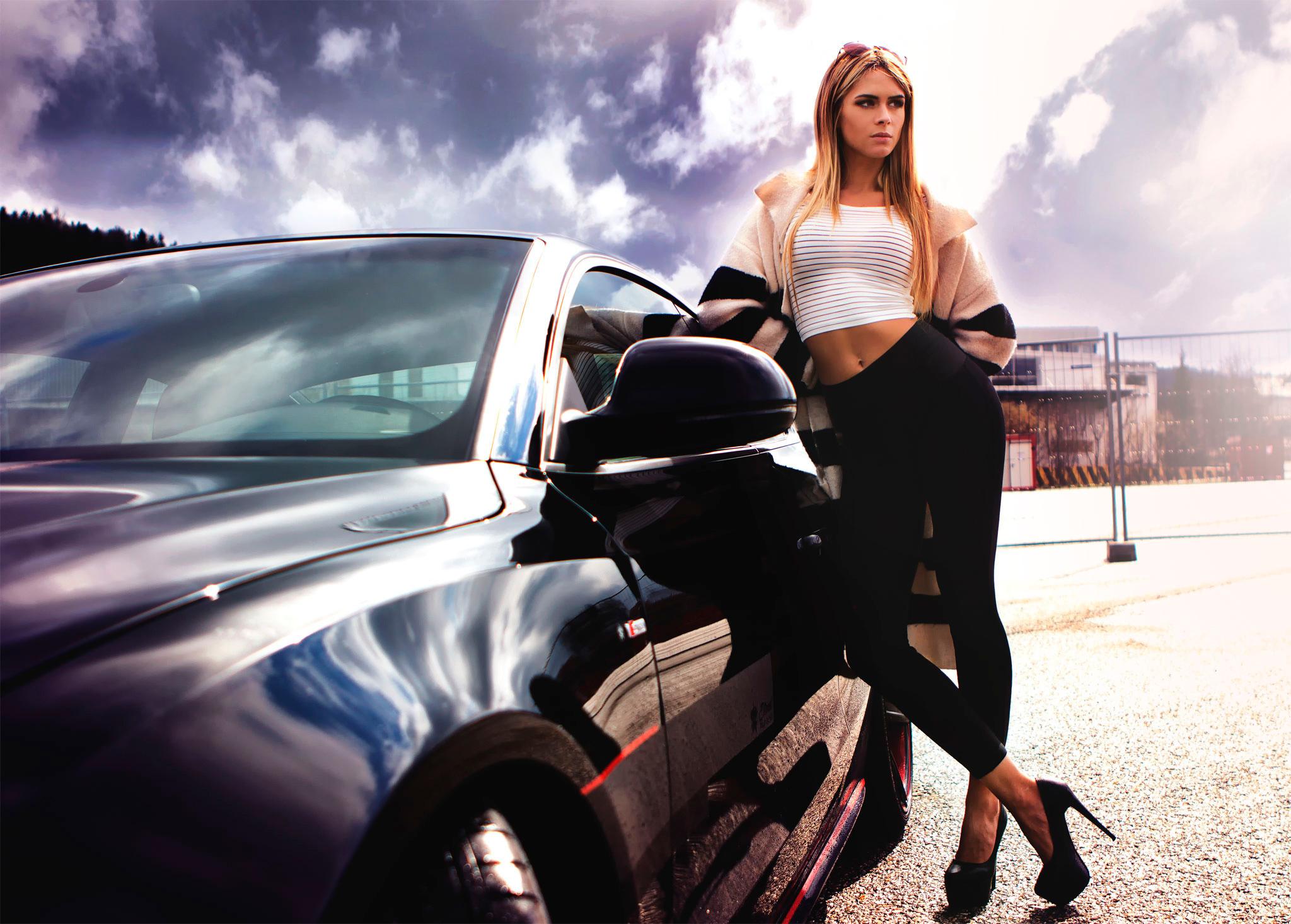 Примеры для фотосессии с машиной