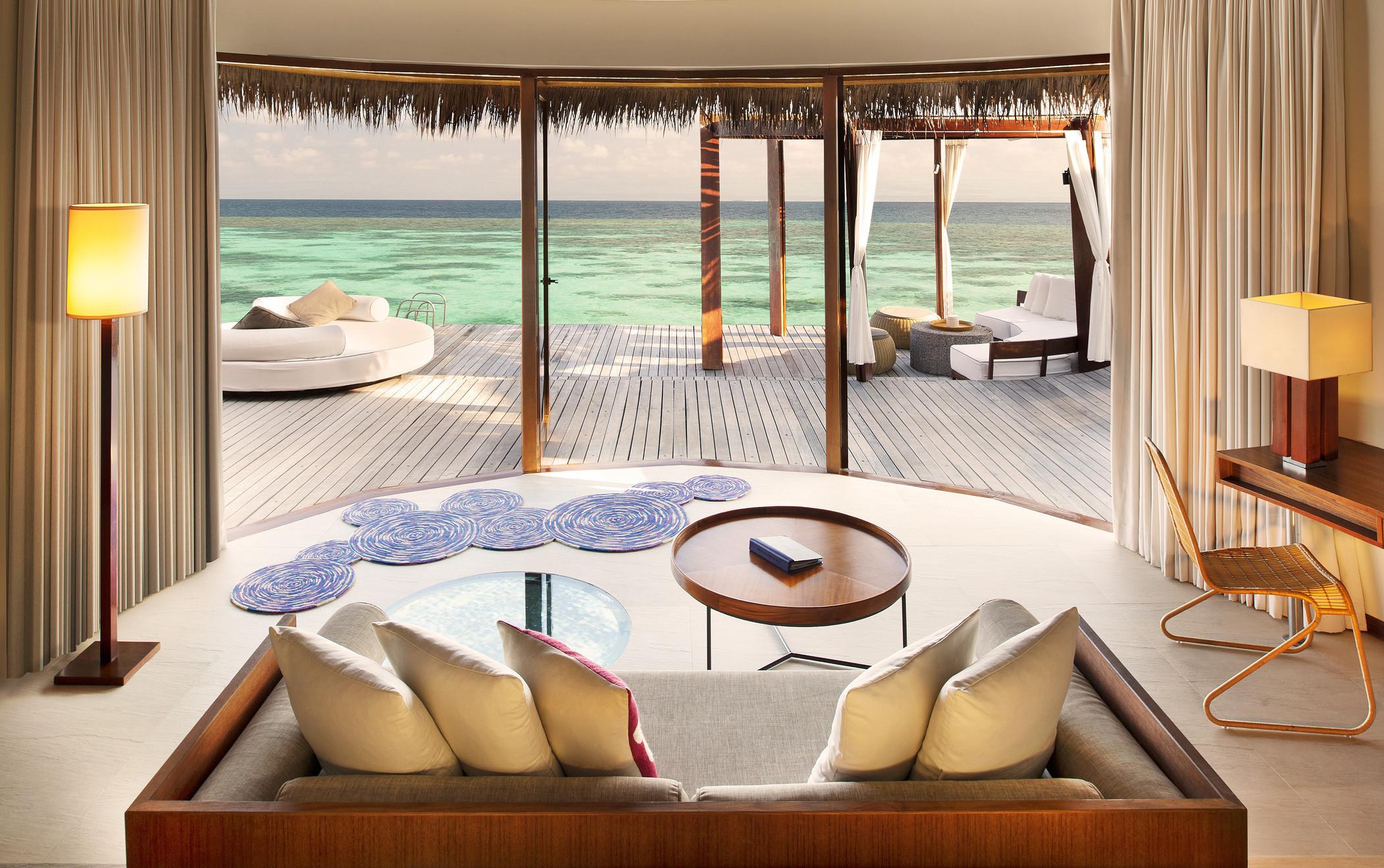 Мальдивы номера отеля отдых The Maldives the rooms the rest  № 334047 без смс