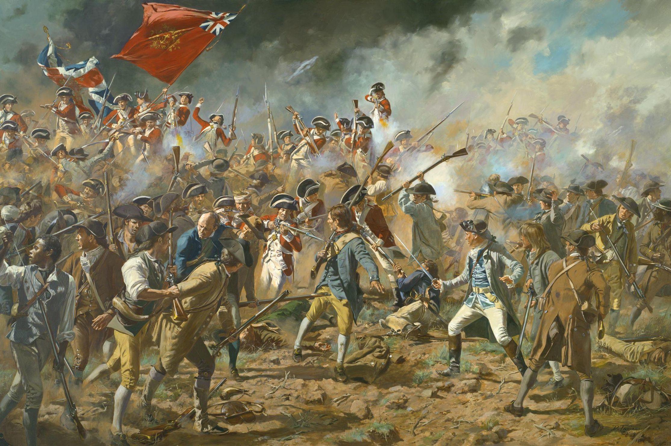 a history of american revolutionary war