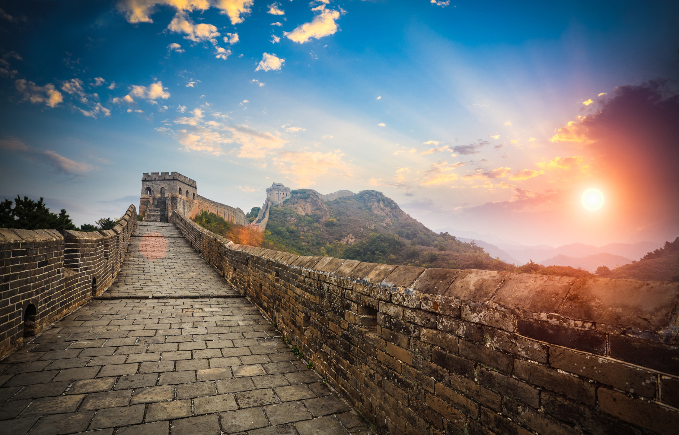 an analysis of the construction of the great wall of china