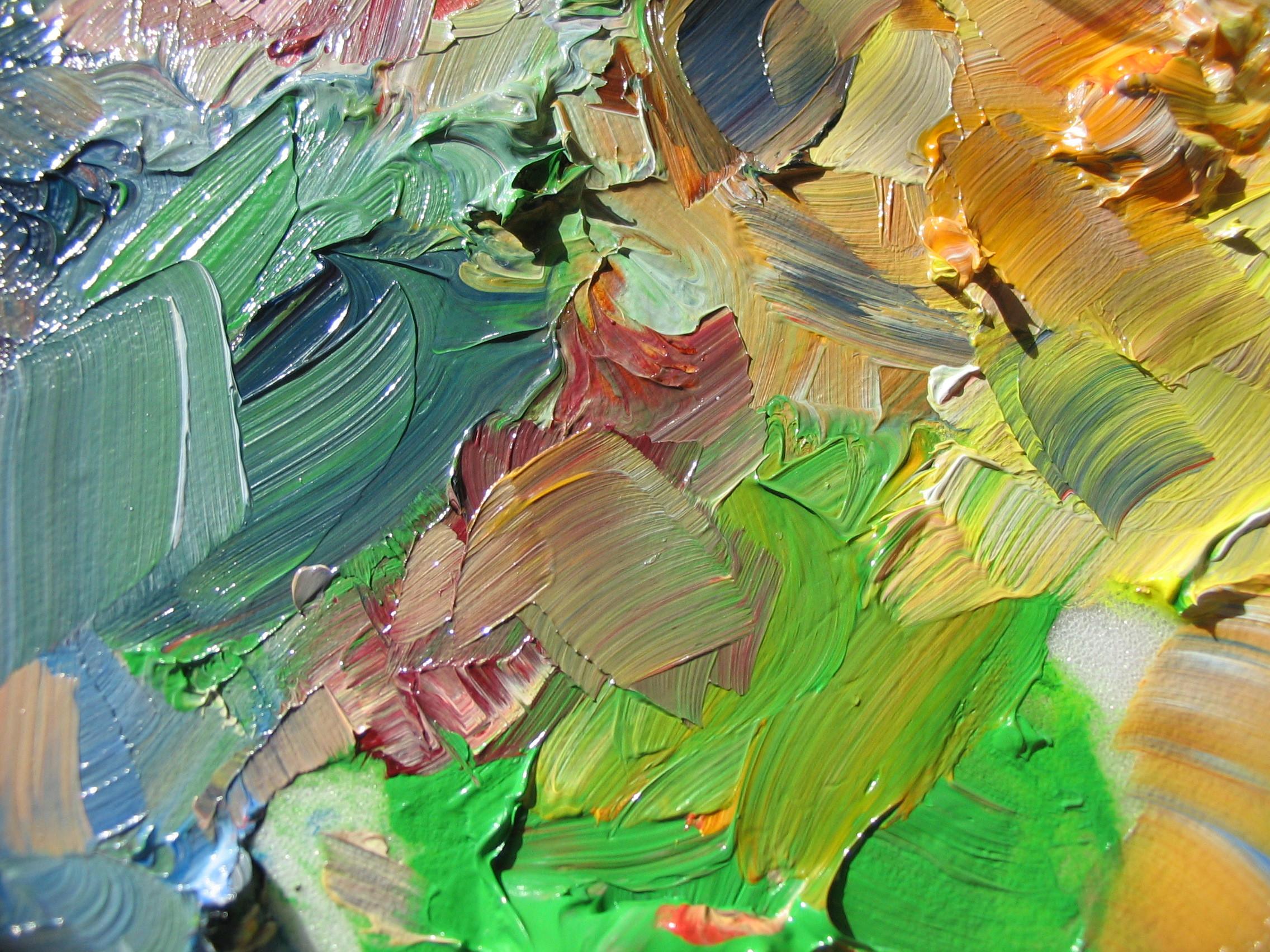 картинки абстракция красками
