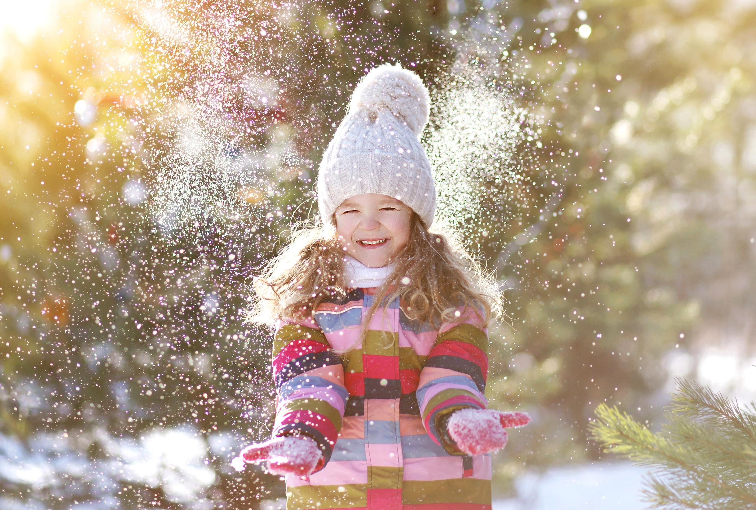 Живые картинки с анимацией про зиму большой