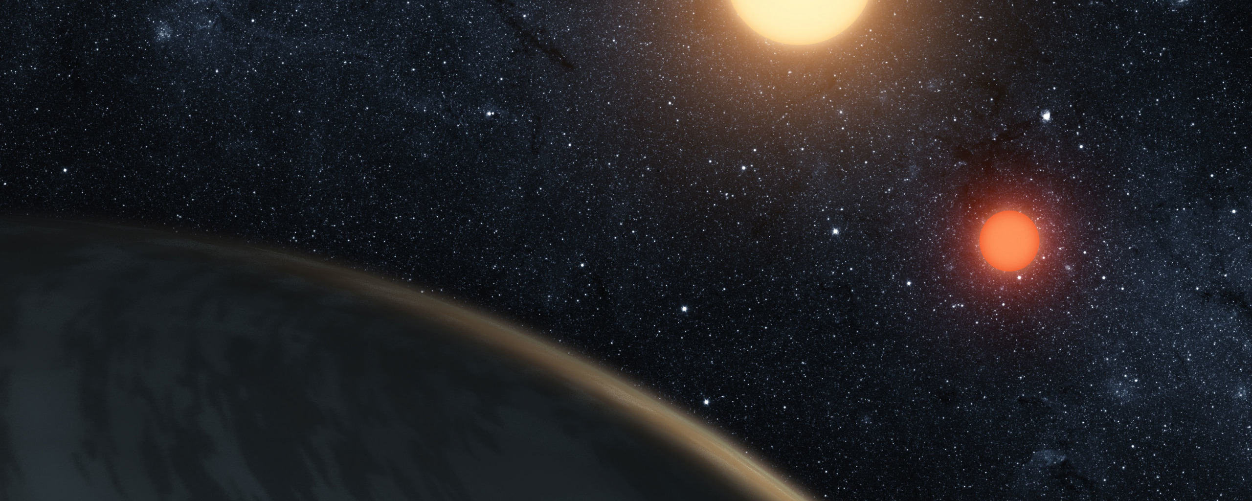 exoplanet backgrounds free - HD 2560×1024