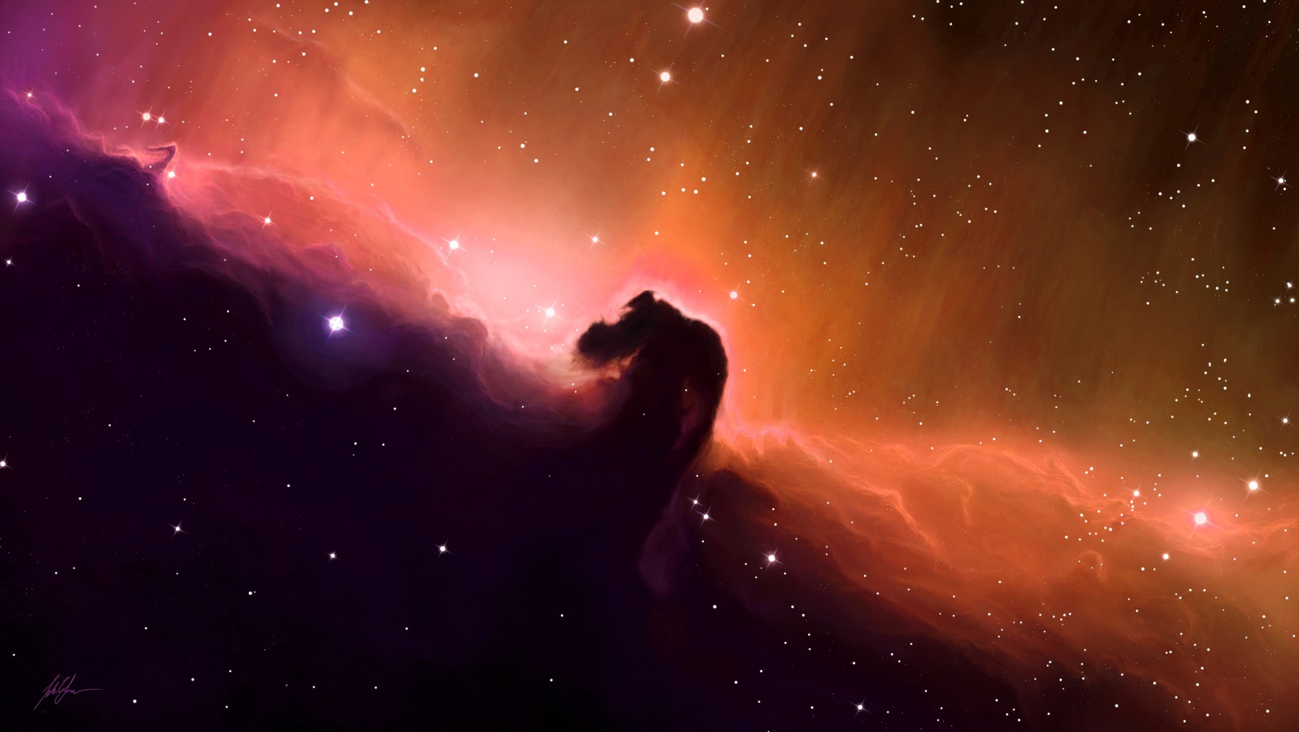 black nebula cat - HD 1920×1082