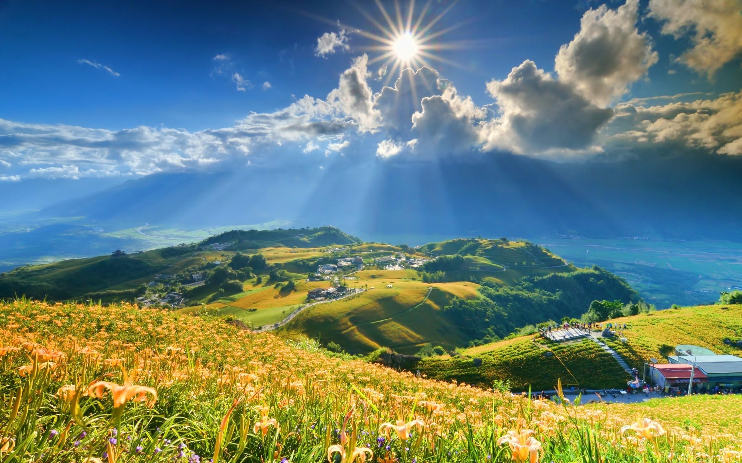 Холмы горы солнце  № 2744541 без смс
