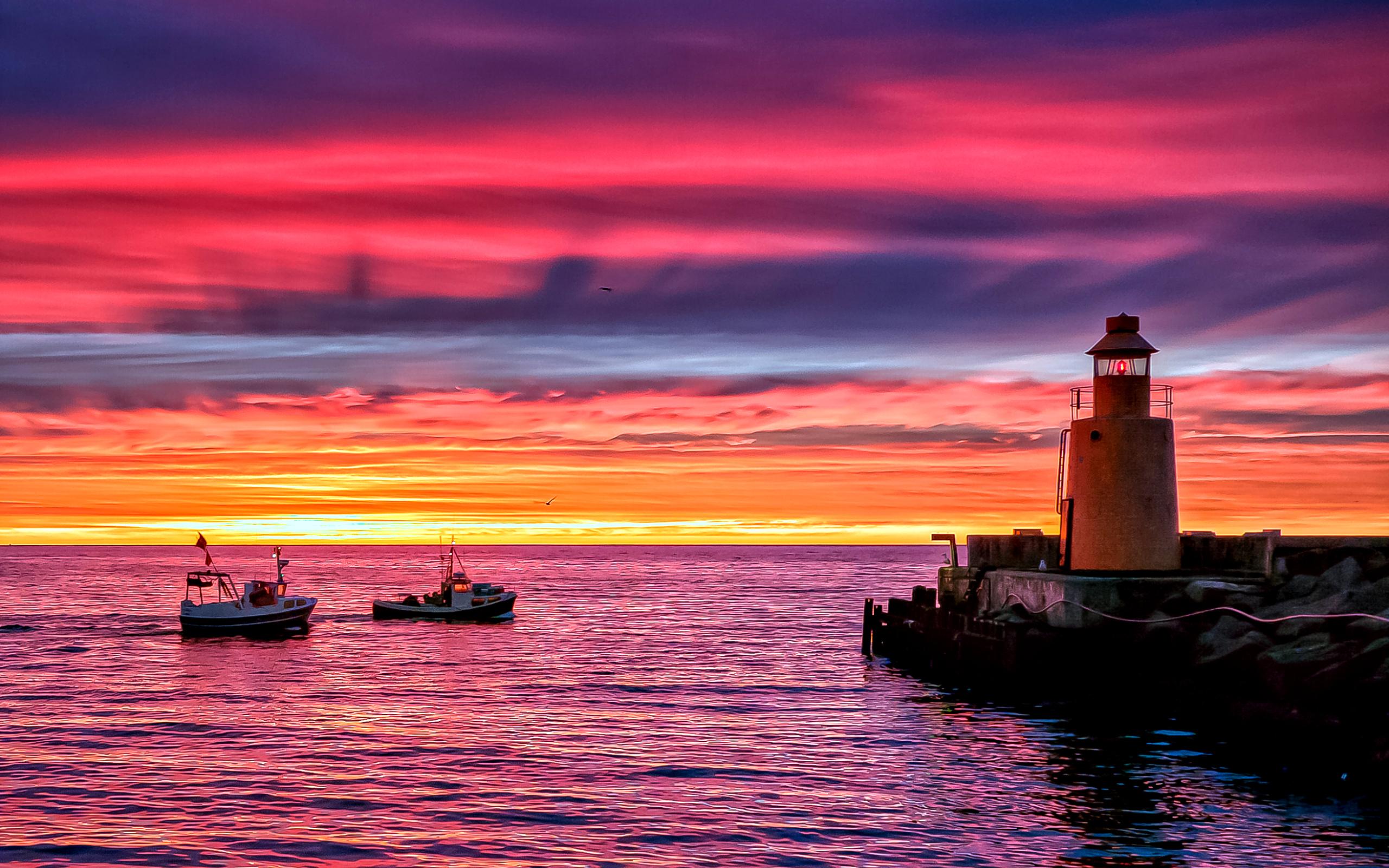 фото морского заката в высоком качестве период