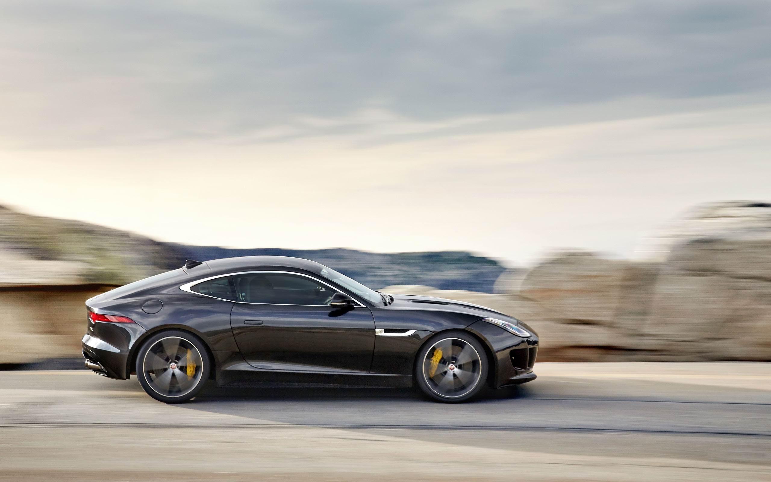 Jaguar F-Type Coupe  № 2429454  скачать