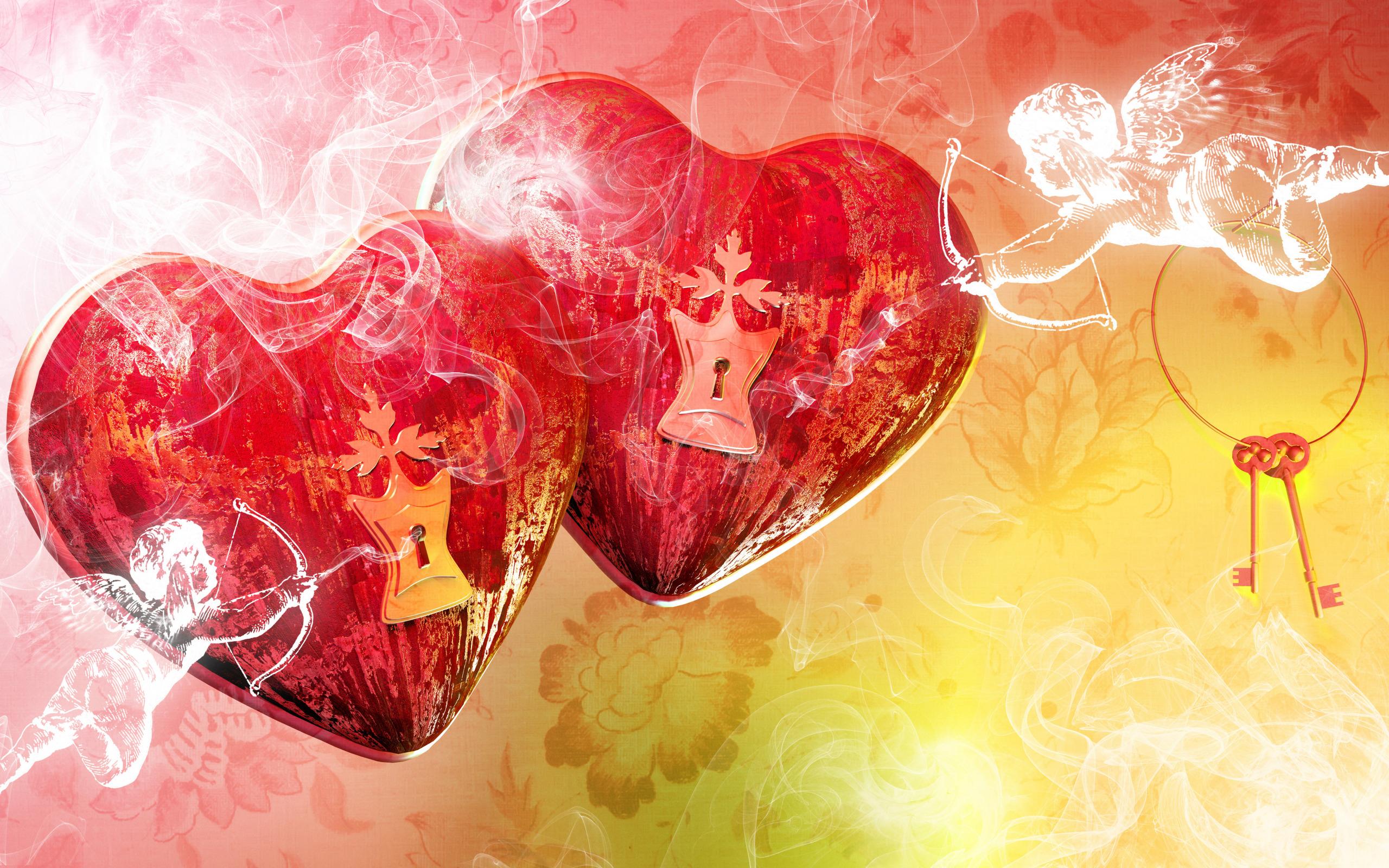 Картинки для рабочего стола сердце любви