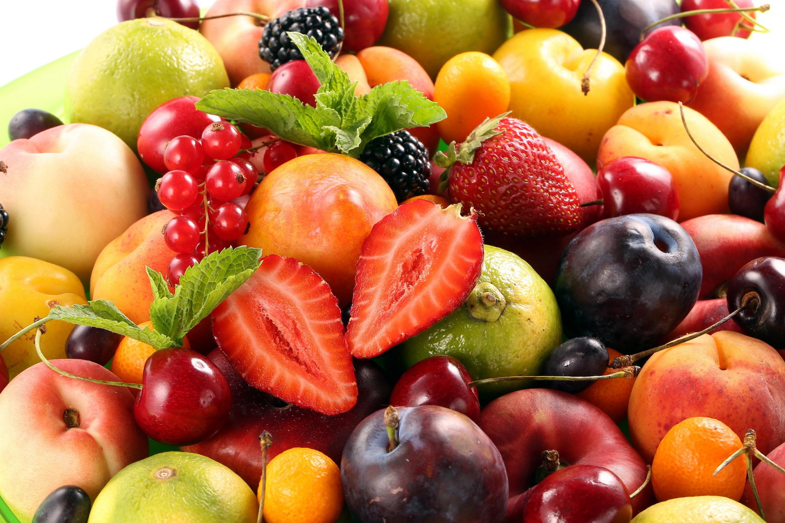 некоторое картинки на фон рабочего стола фрукты всегда много