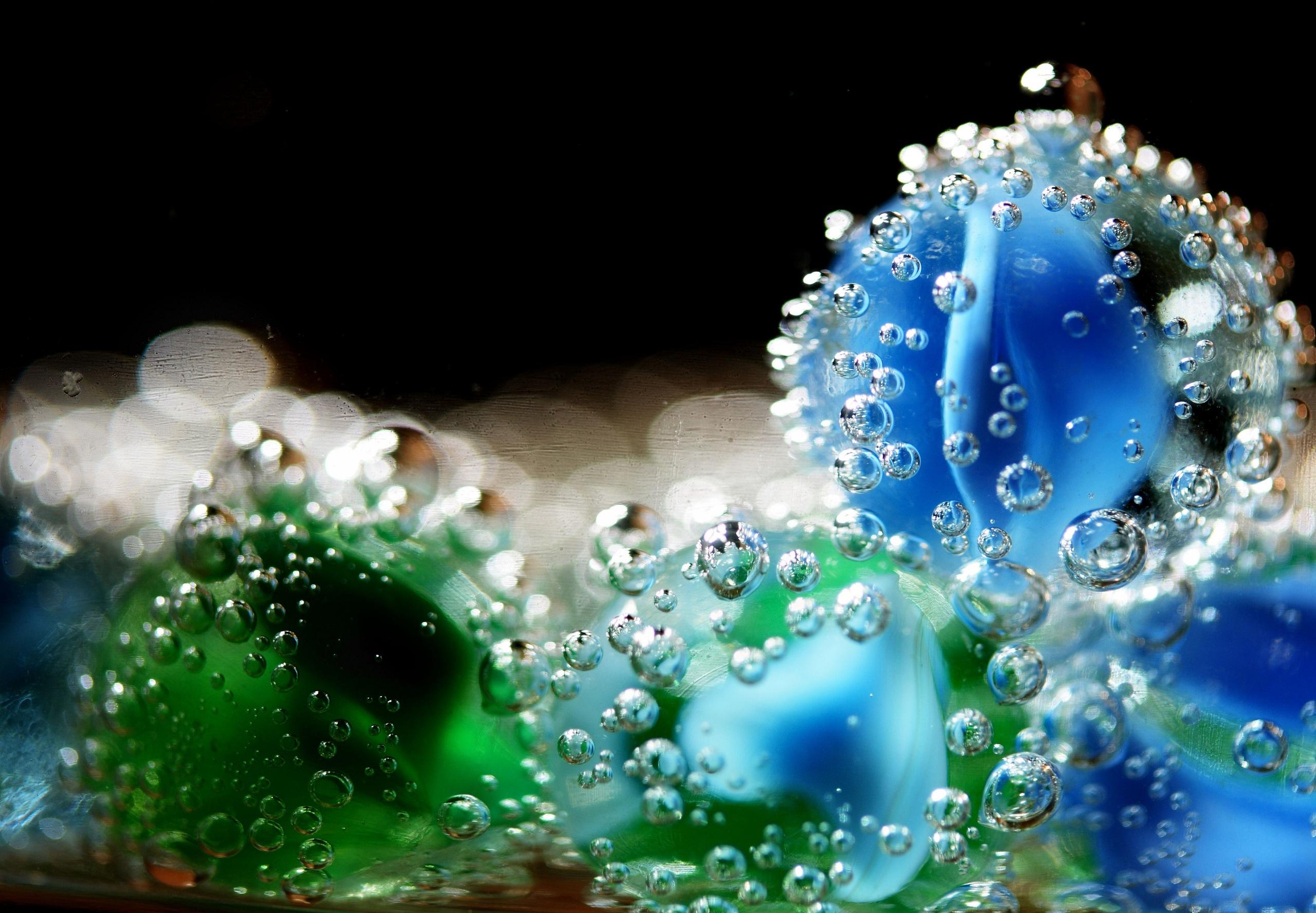 пузыри фон макро  № 3275961  скачать