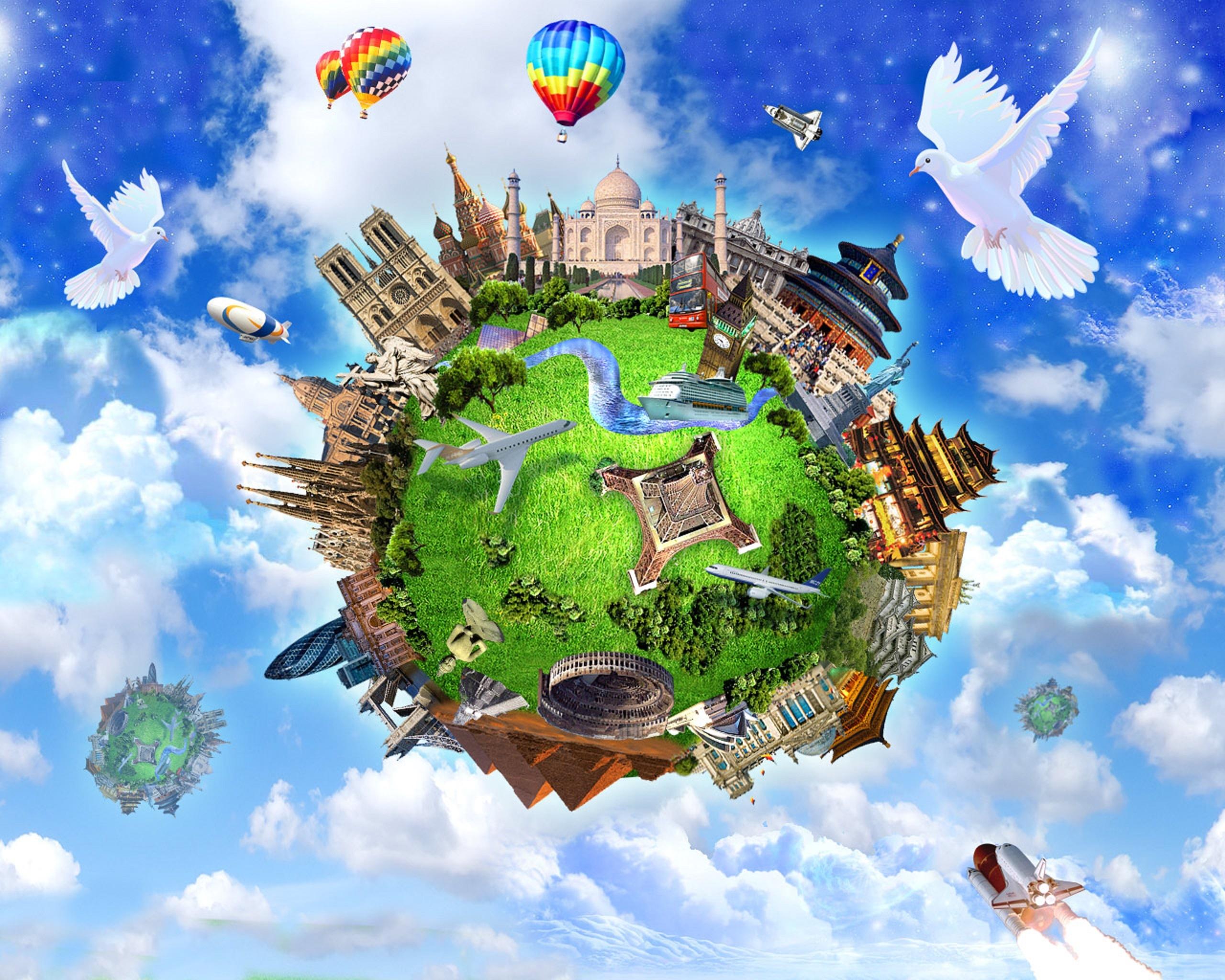 Сценарий о путешествиях по миру