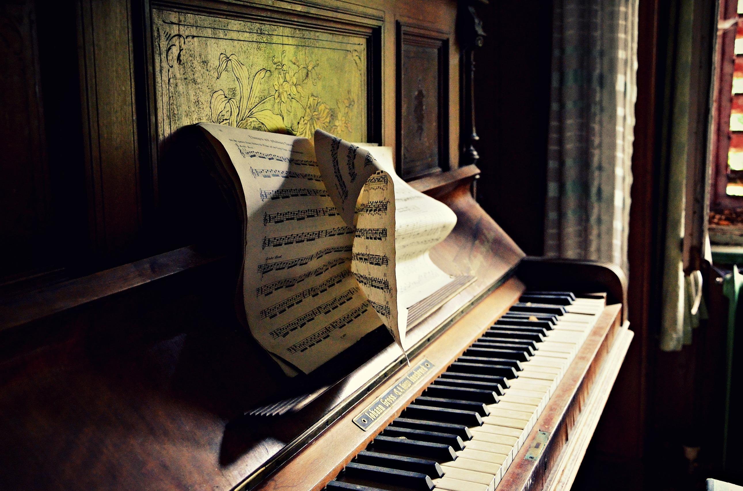 фото ноты для пианино если