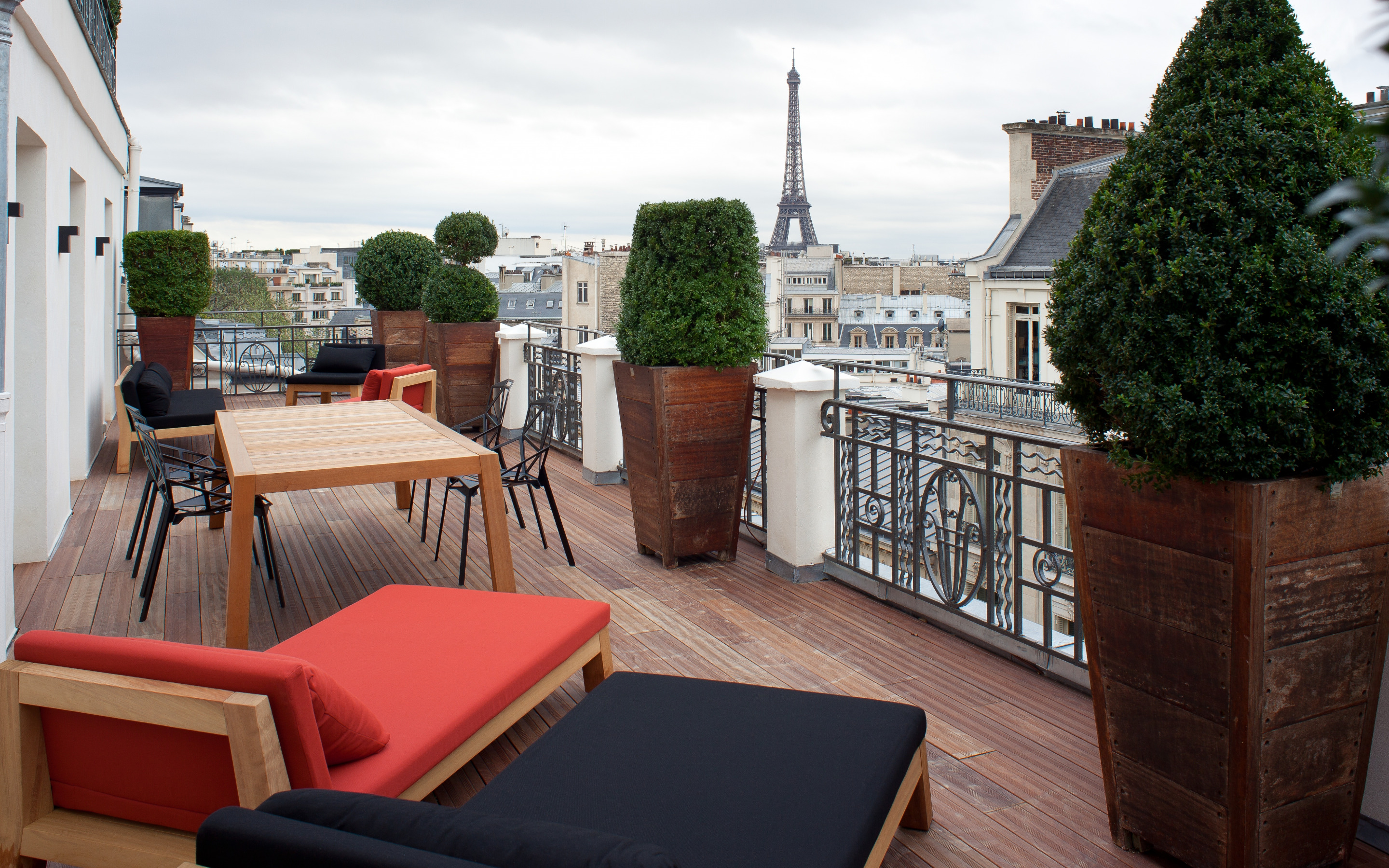 1920x1080 paris, furniture, terrace, the city, interior, par.