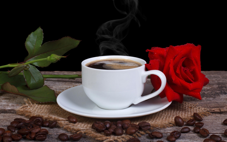 Картинки чашка кофе с цветком, спасибо
