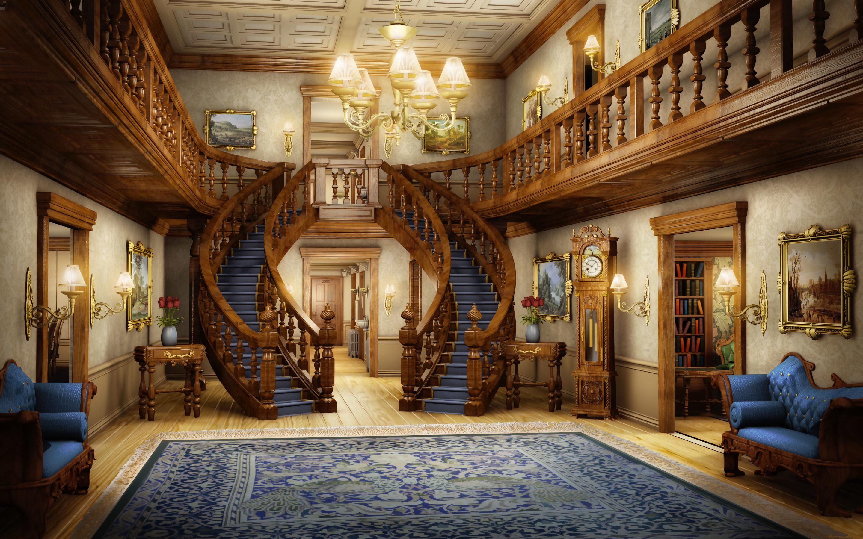 интерьер лестница  № 3534806 загрузить