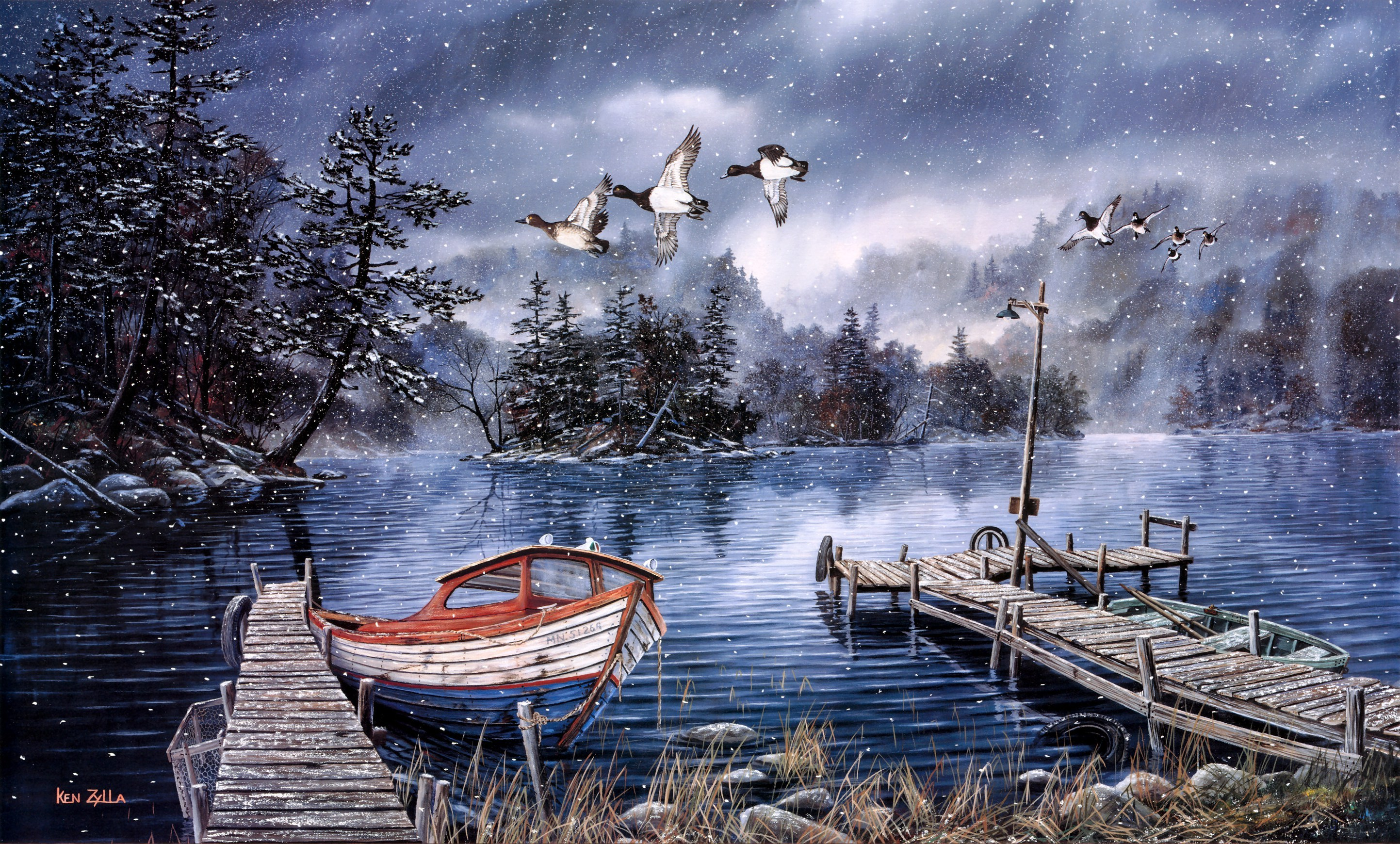 картинки сказочными лодками базы
