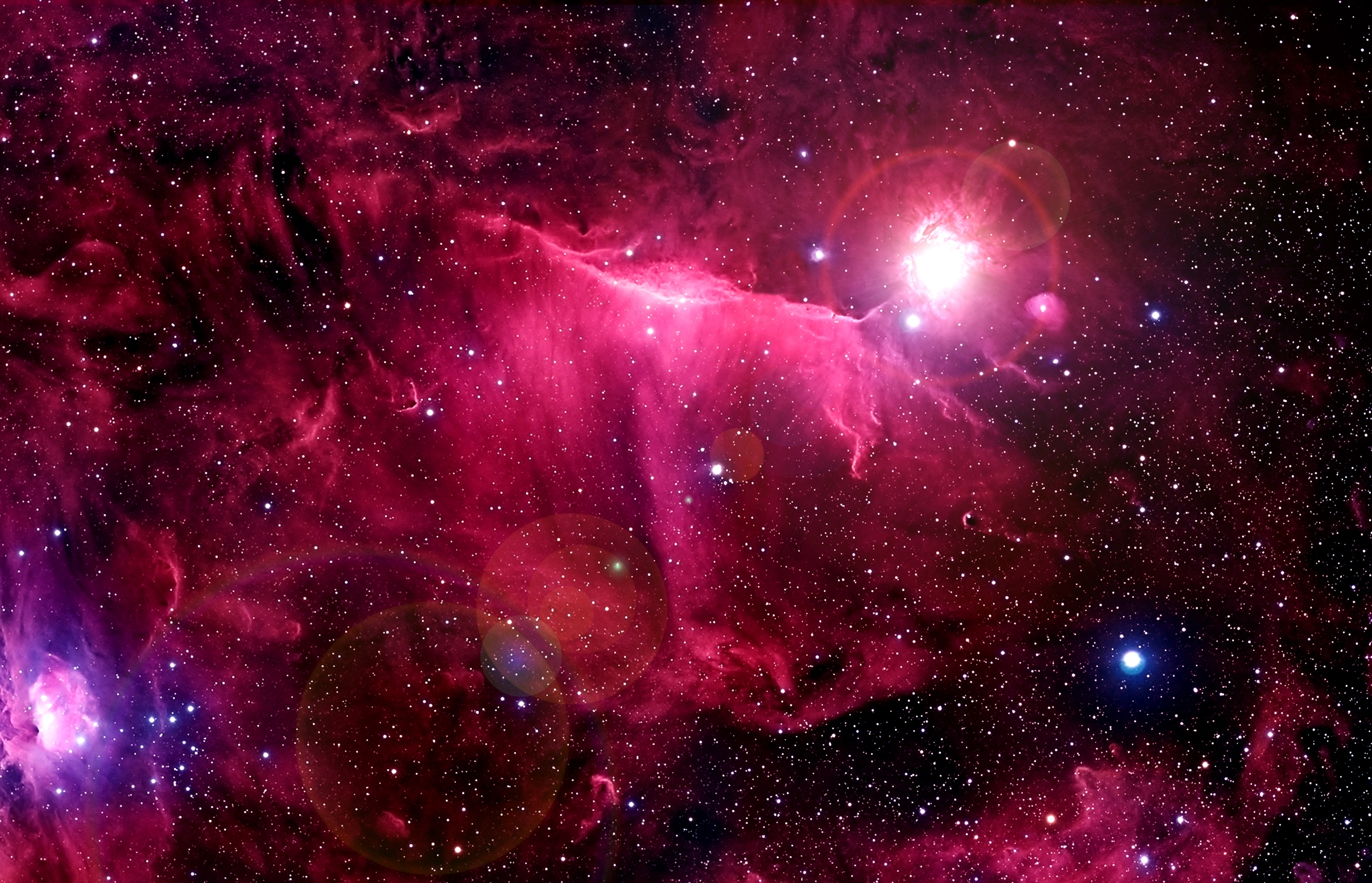 pink nebula pictures - HD