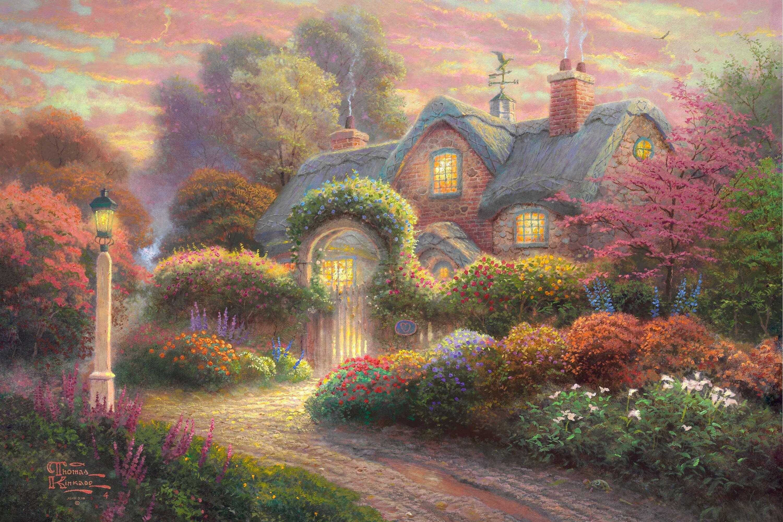 Смешные радость, открытки с садом