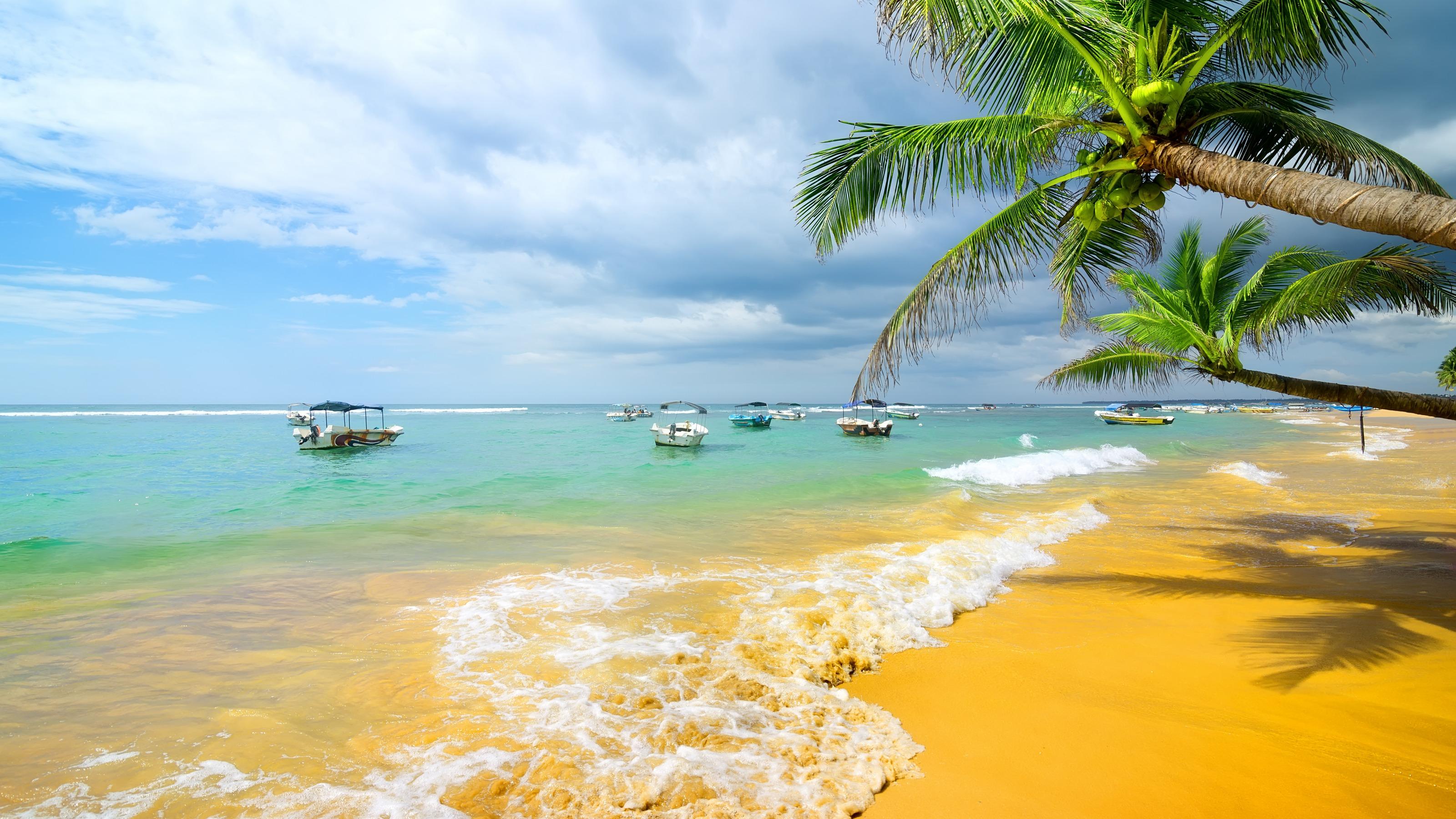 Добрый вечер, открытка с пляжем