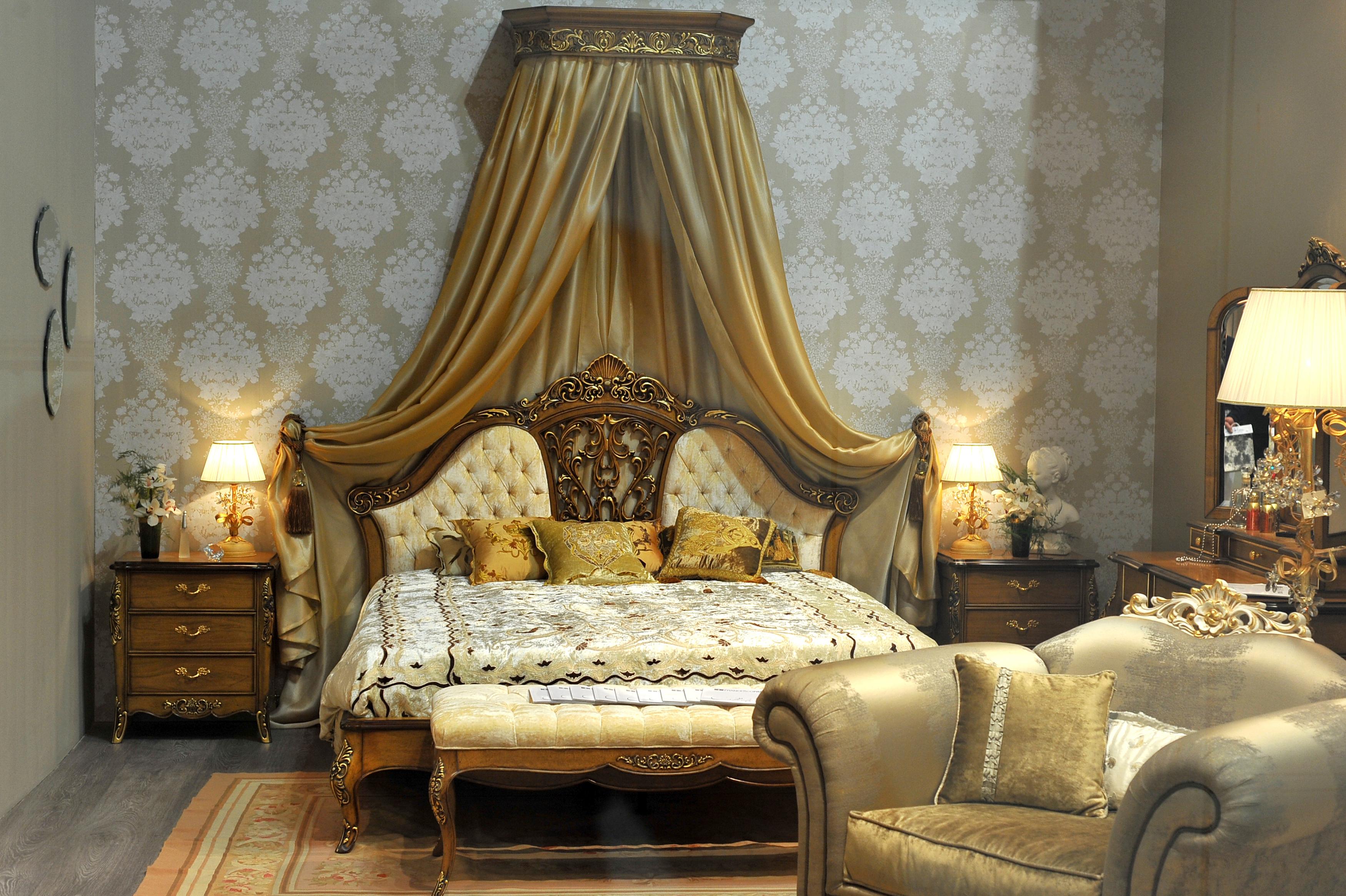 Обои интерьер стиль дизайн спальня