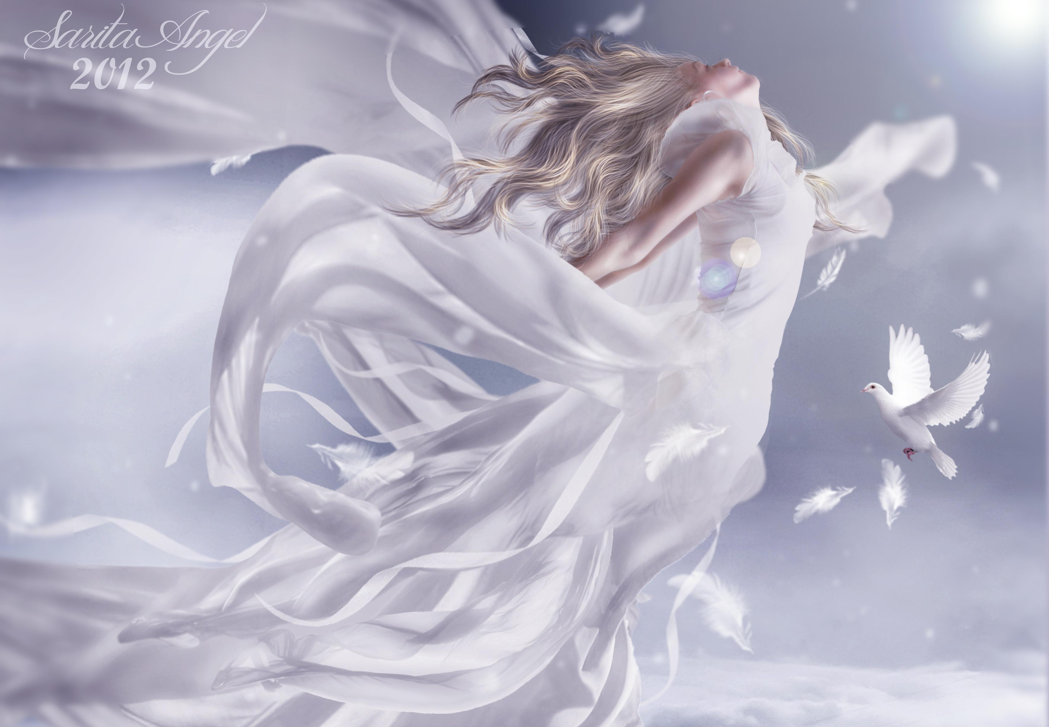 милые летающие ангелы картинки красиво есть, через