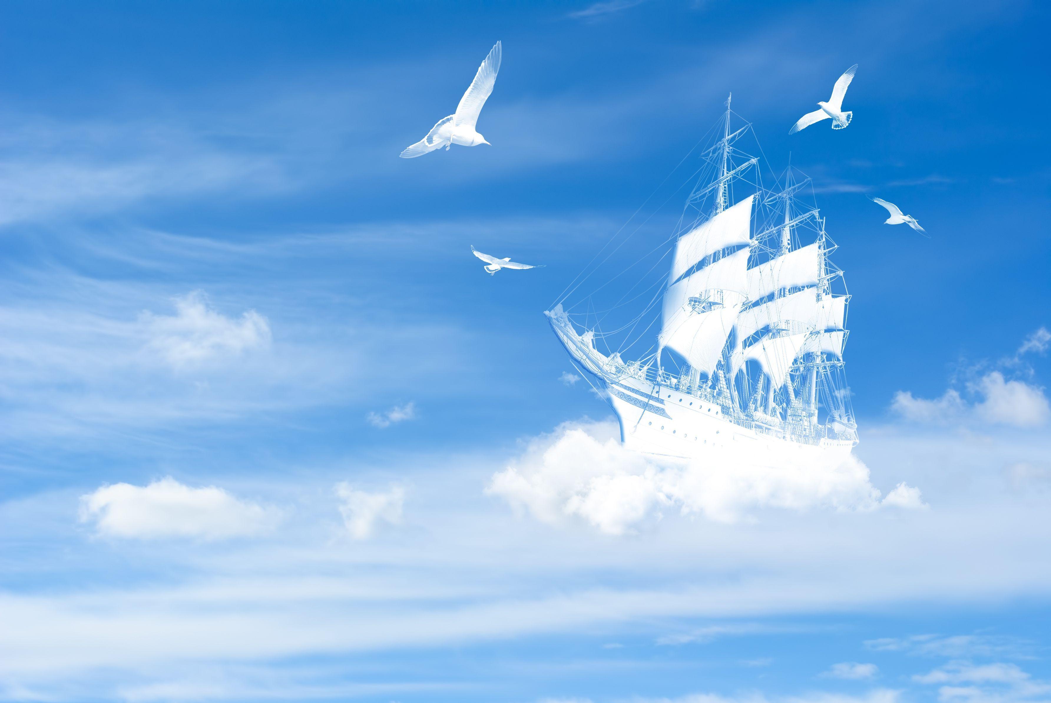 воздушный кораблик  № 1684054  скачать