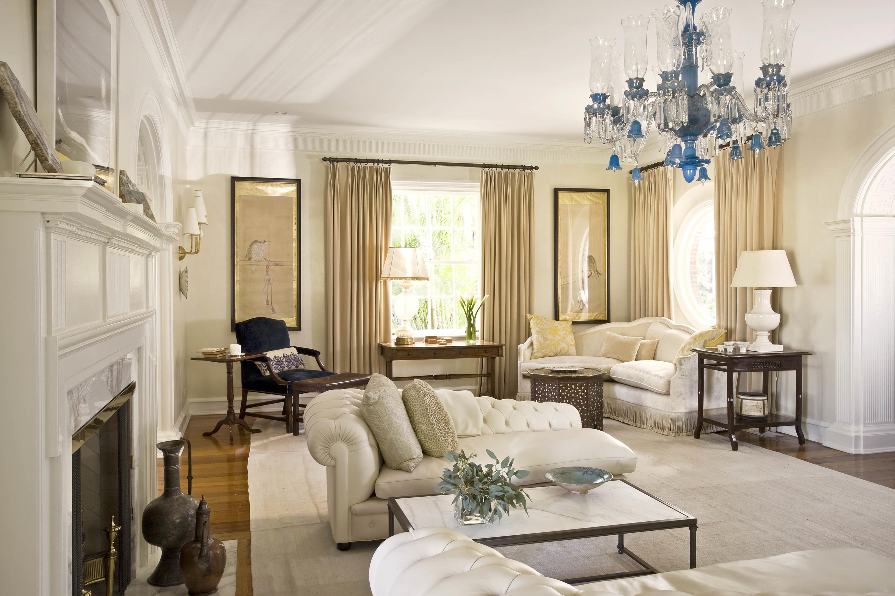 Стиль гостинная диван светлая  № 87459 бесплатно