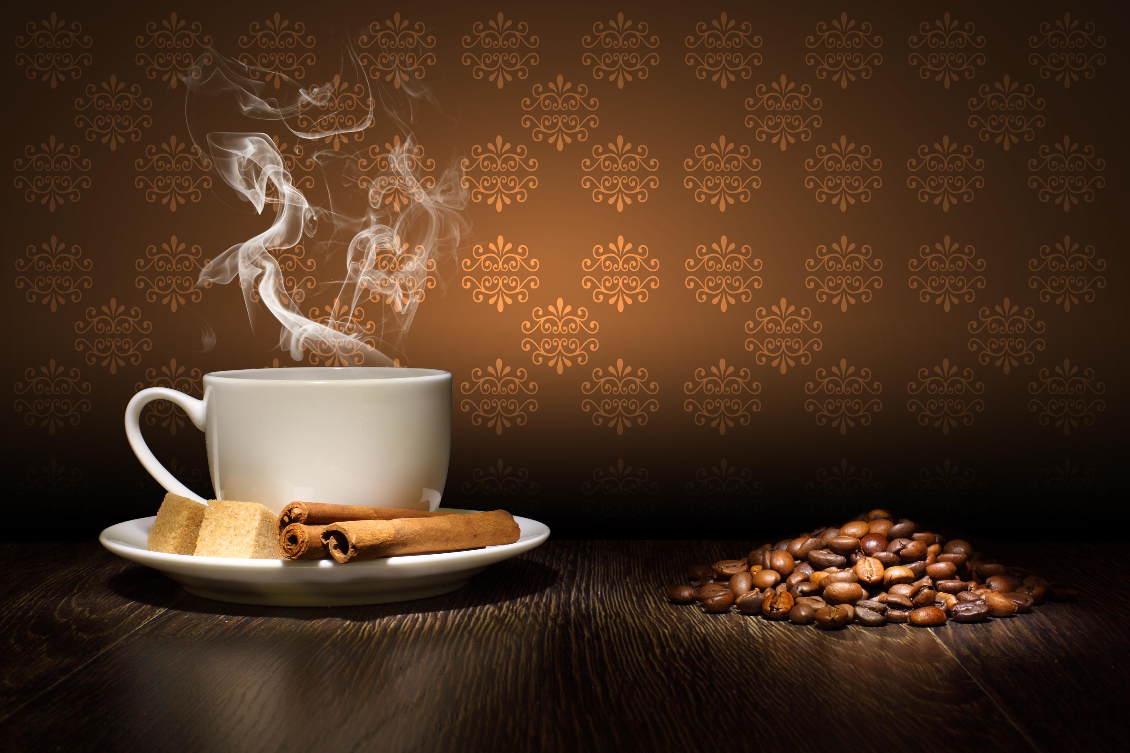 Кофейная открытка для мужчины