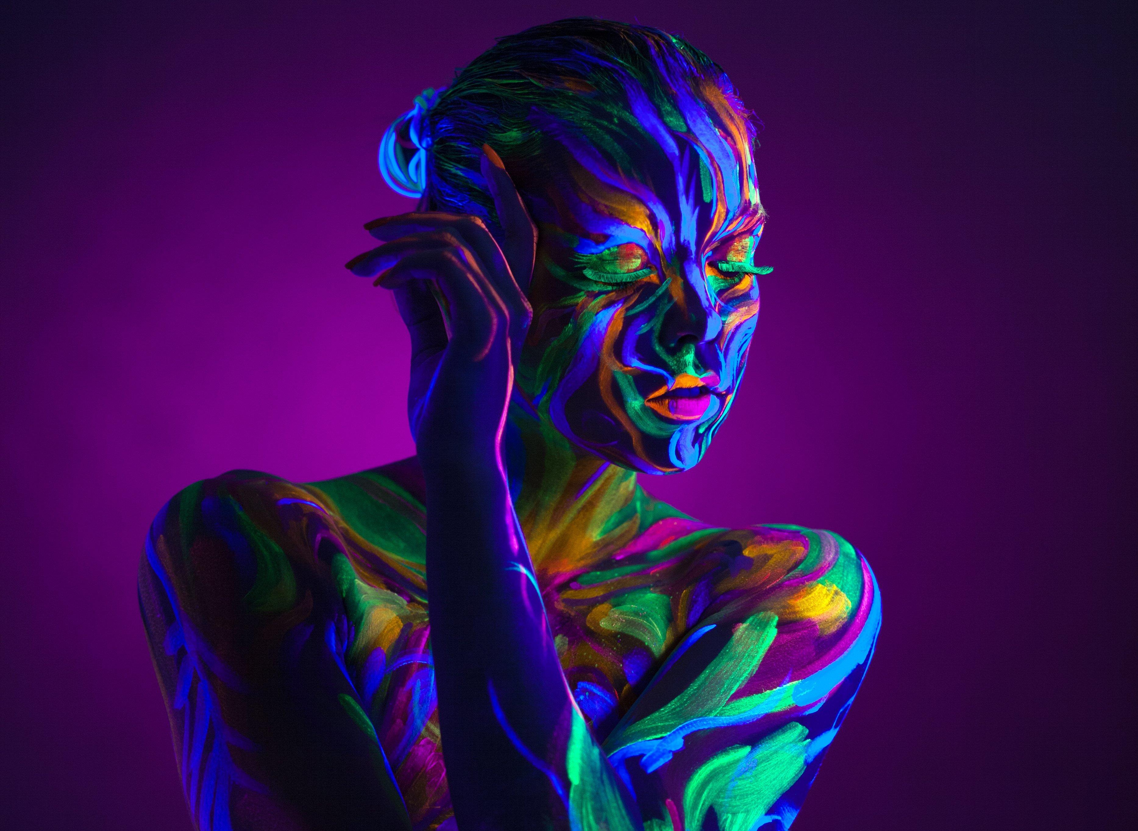 неон маска neon mask  № 2321315 загрузить
