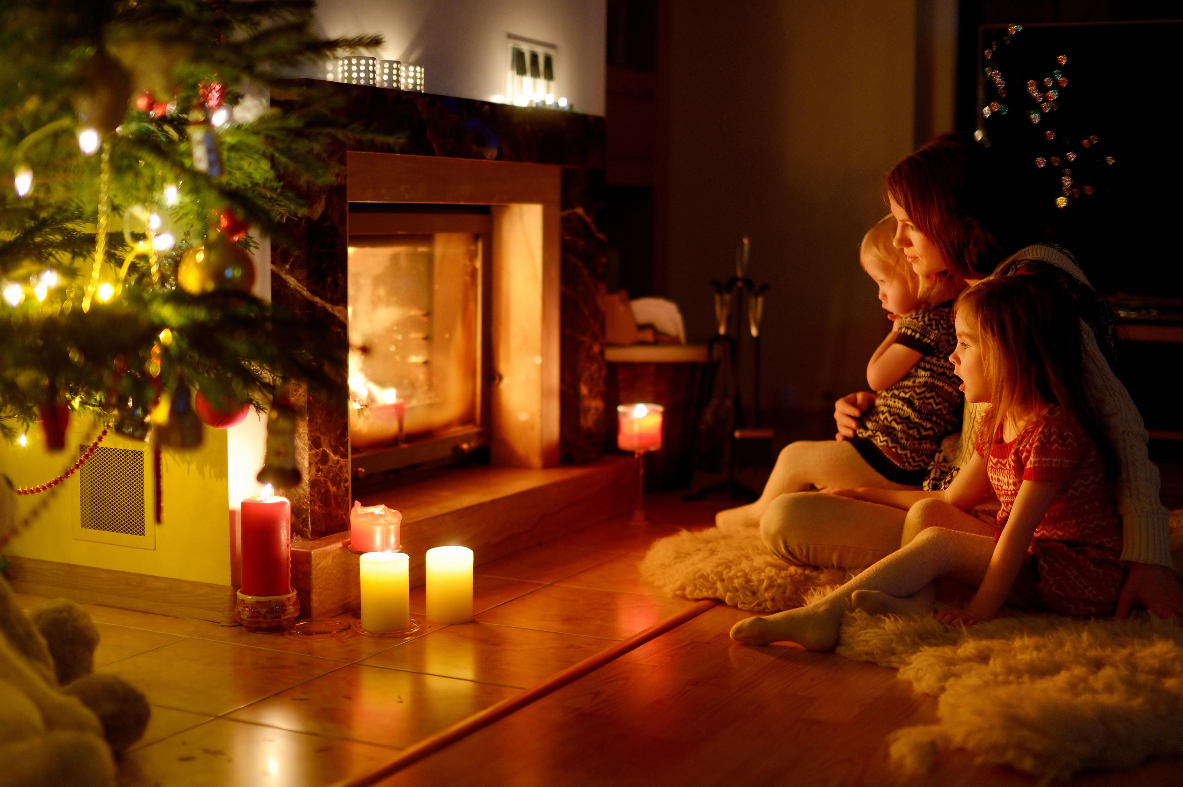 Рождество проводят с семьей