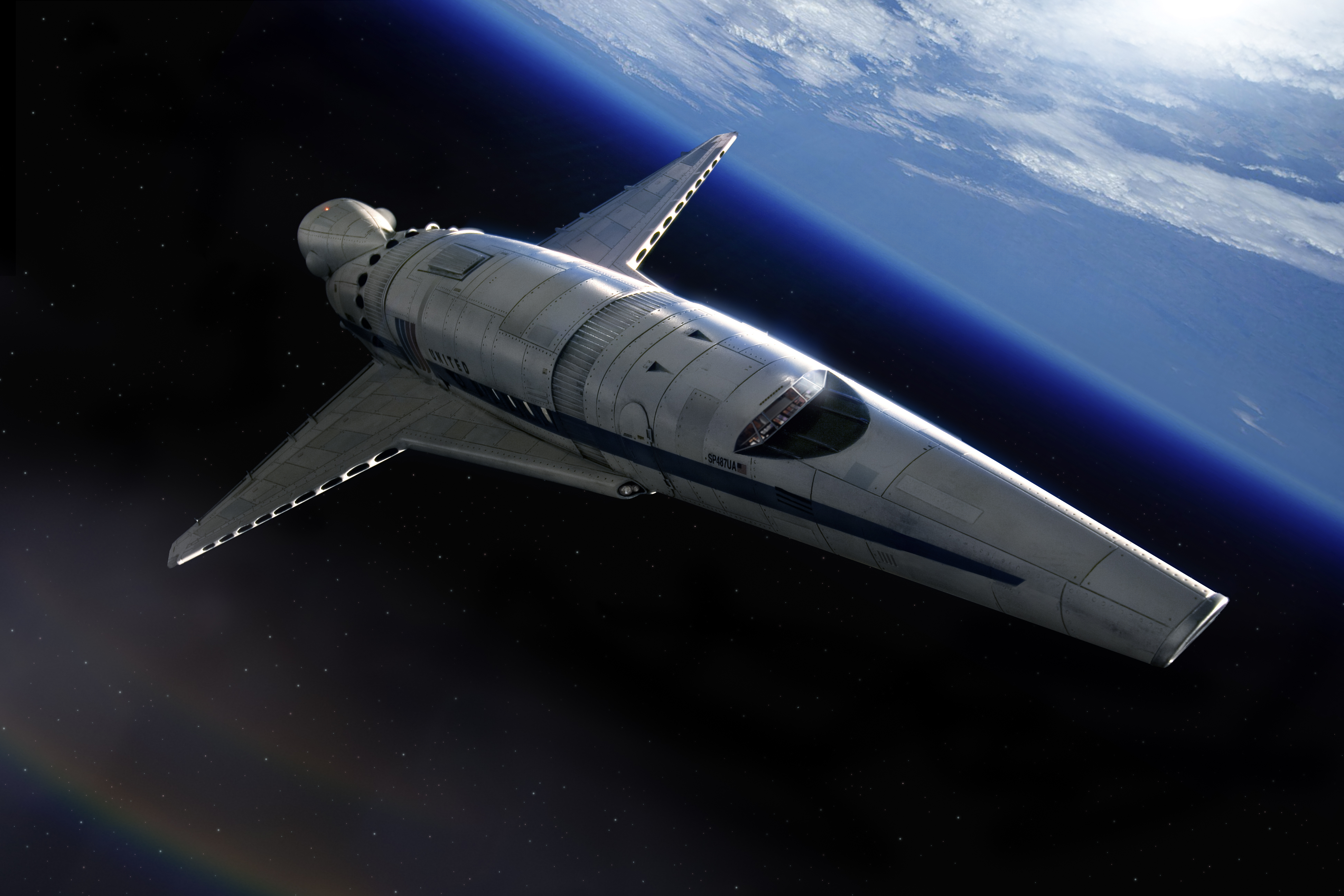 future rocket ship - HD2560×1600