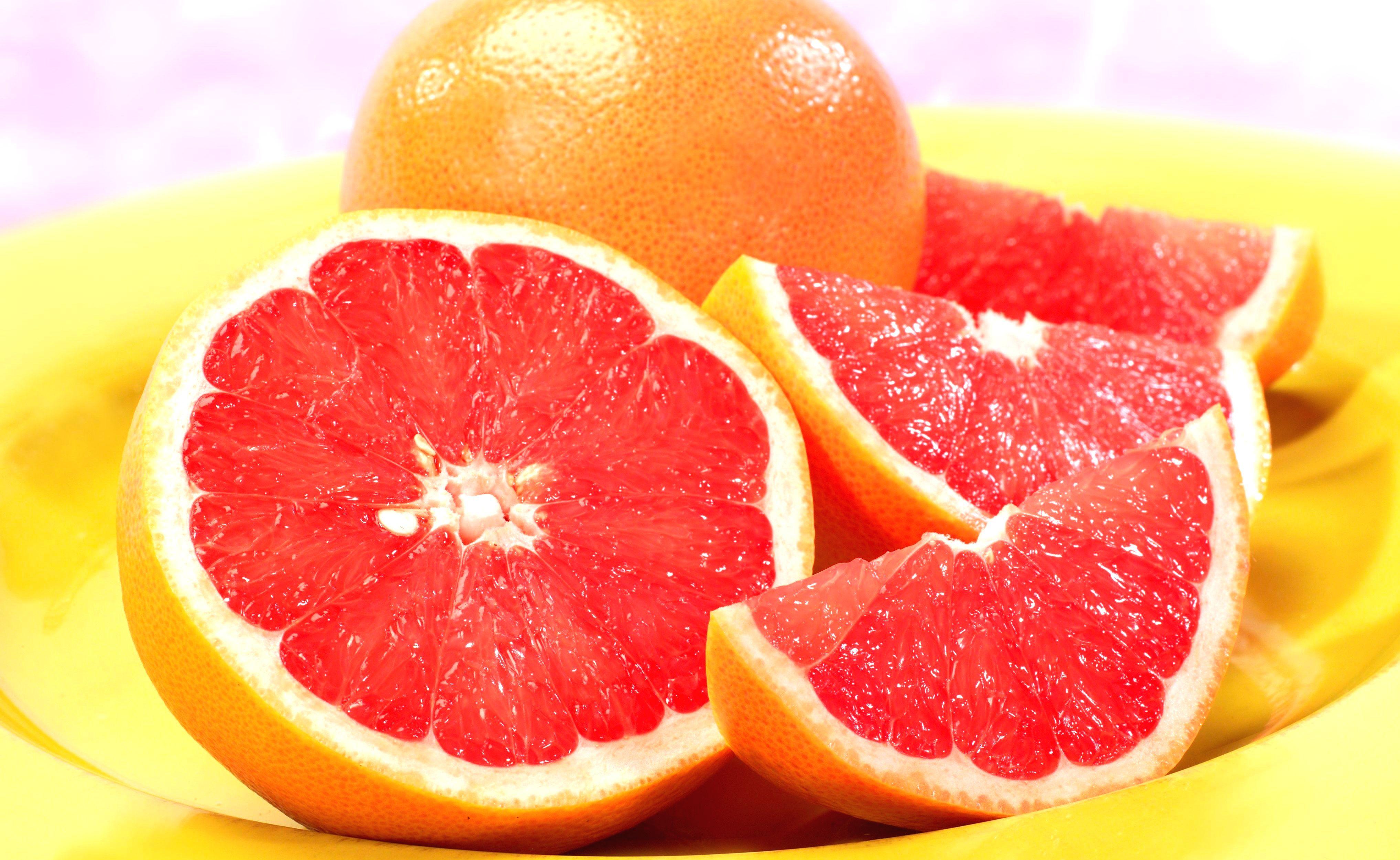 дольки грейпфрута  № 2133909 бесплатно