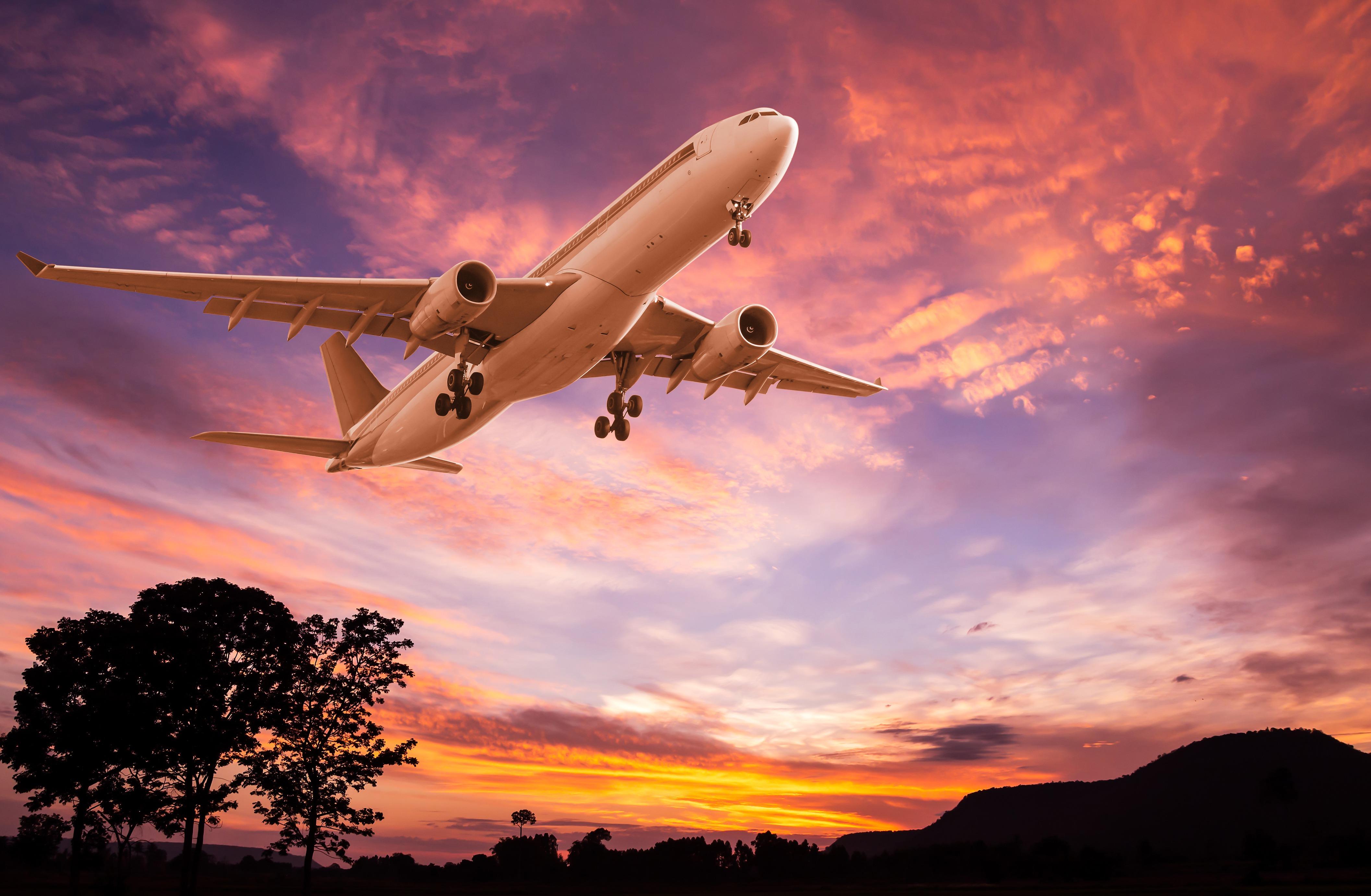 красивые картинки самолетов которые взлетают