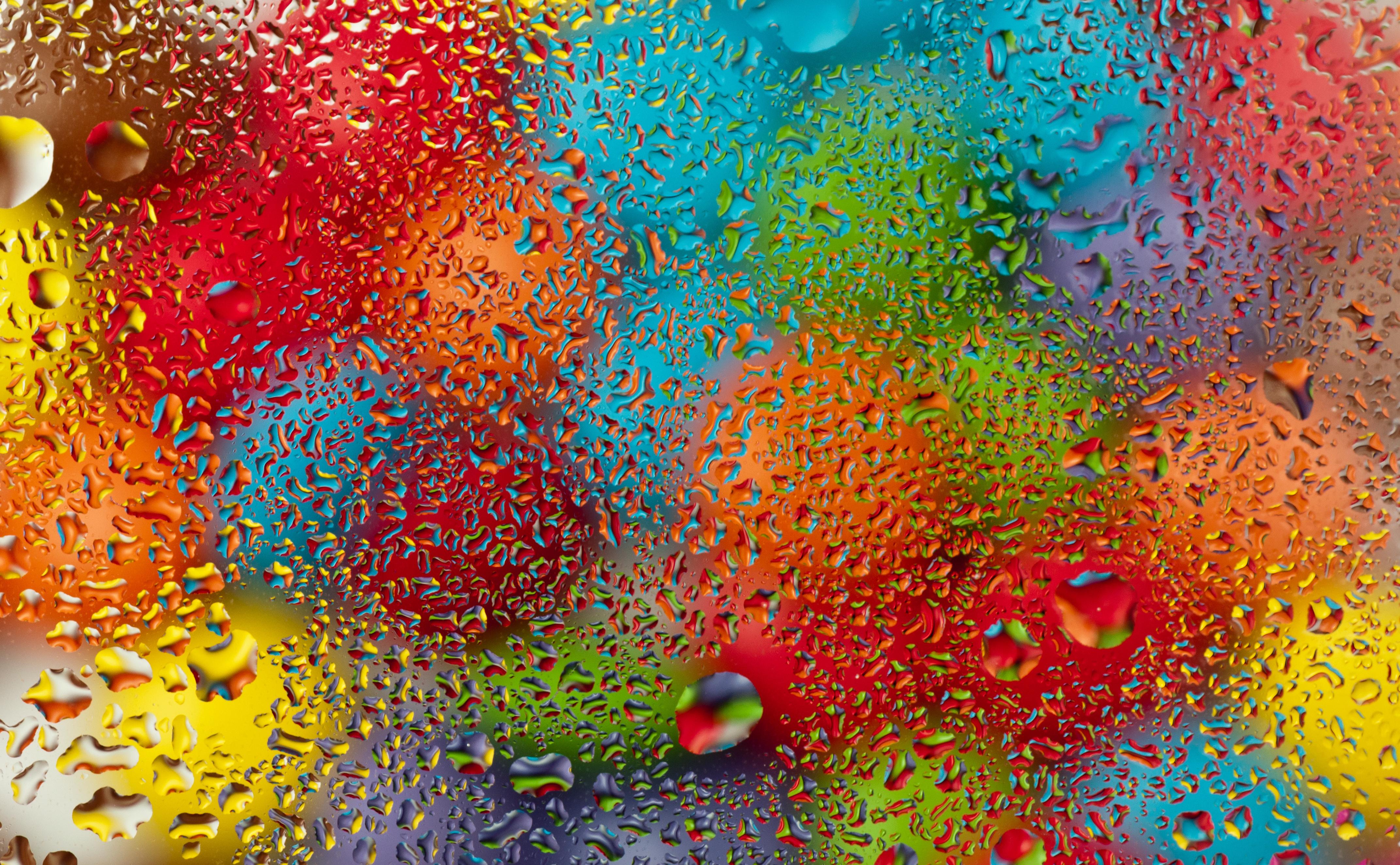 картинки цветные капли воды сделан утяжеленным стволом