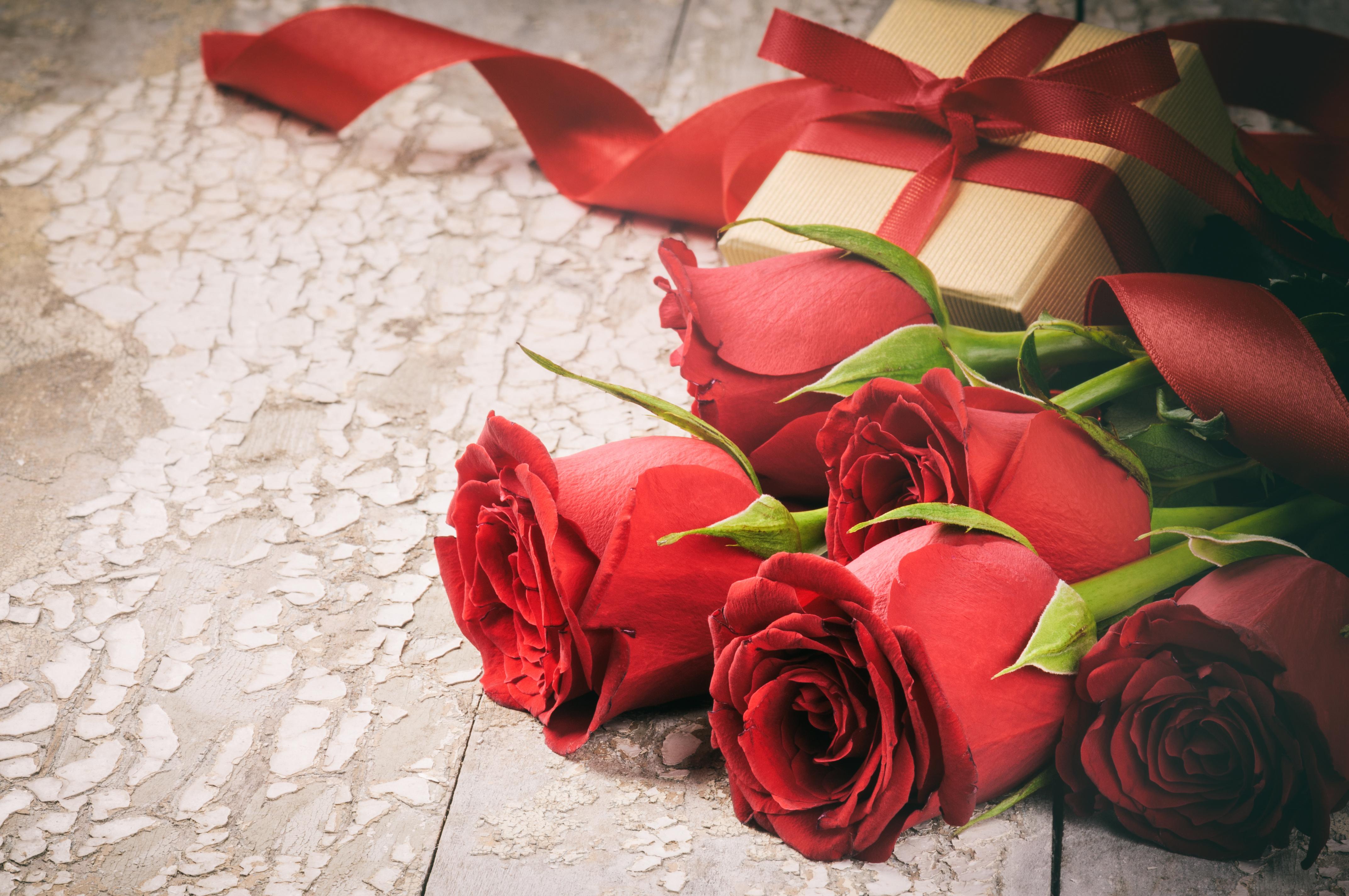Дед мороз, открытки романтические цветы