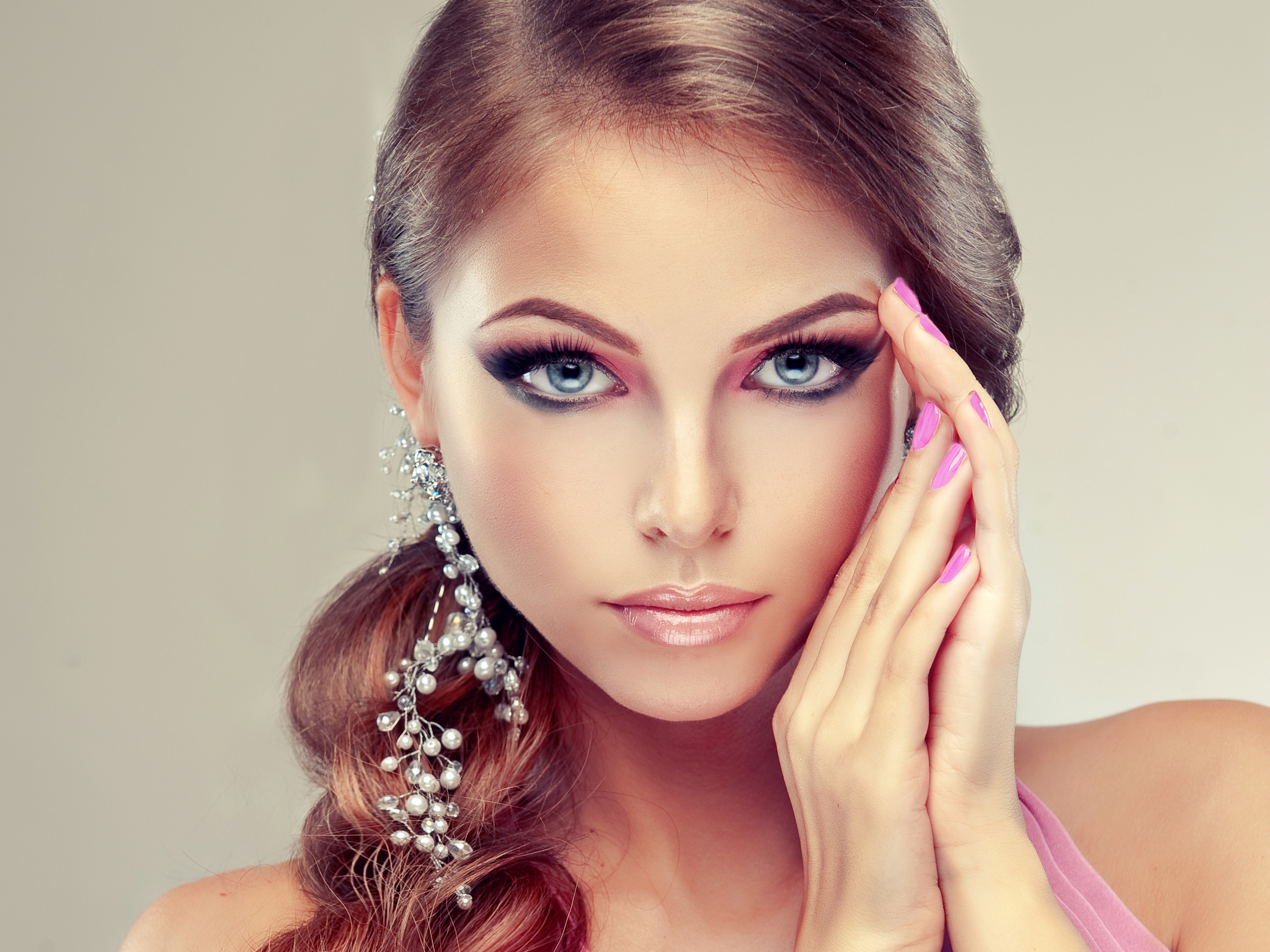 Салон красоты девушки
