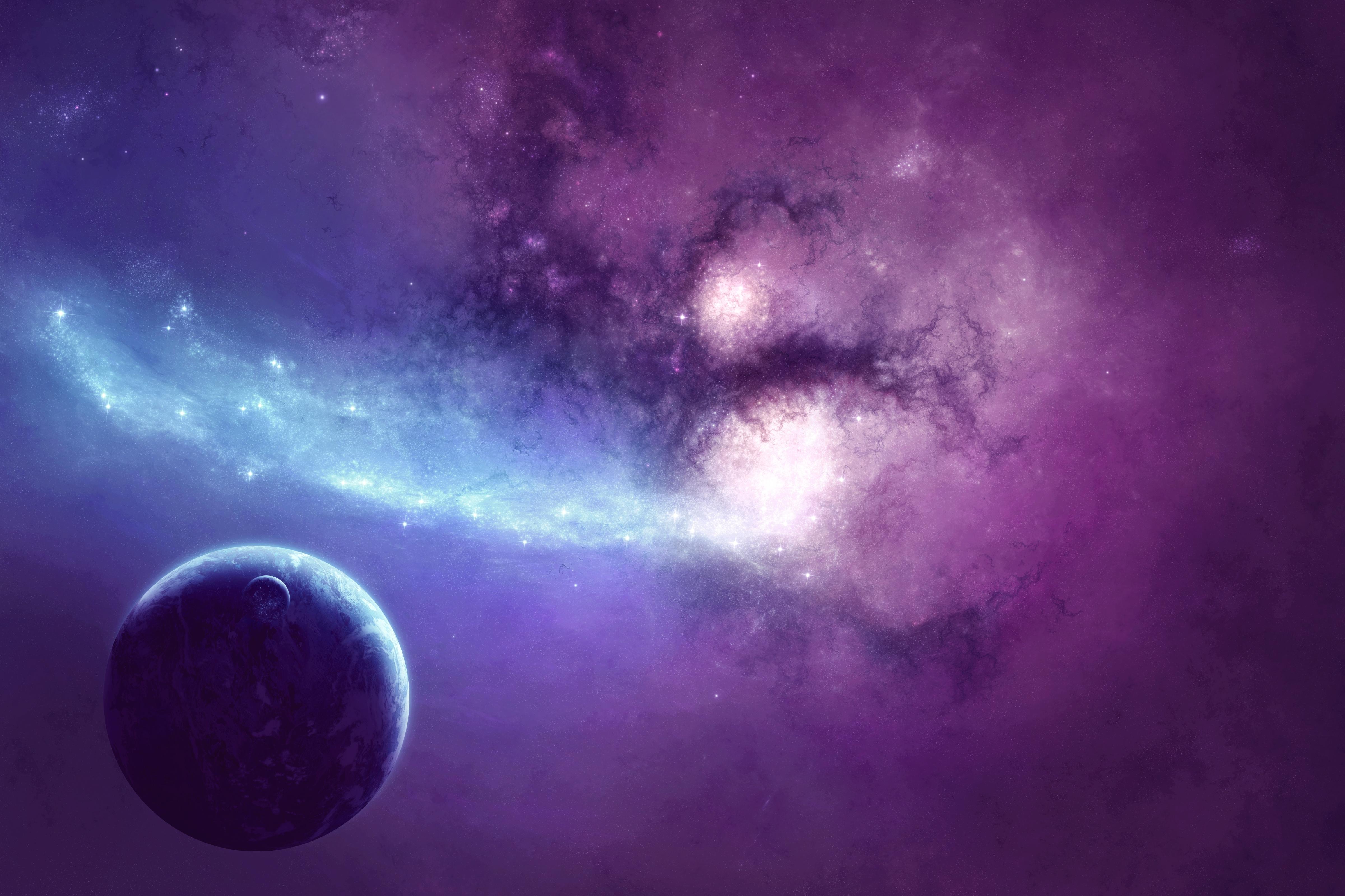 Красивые горизонтальные картинки космос