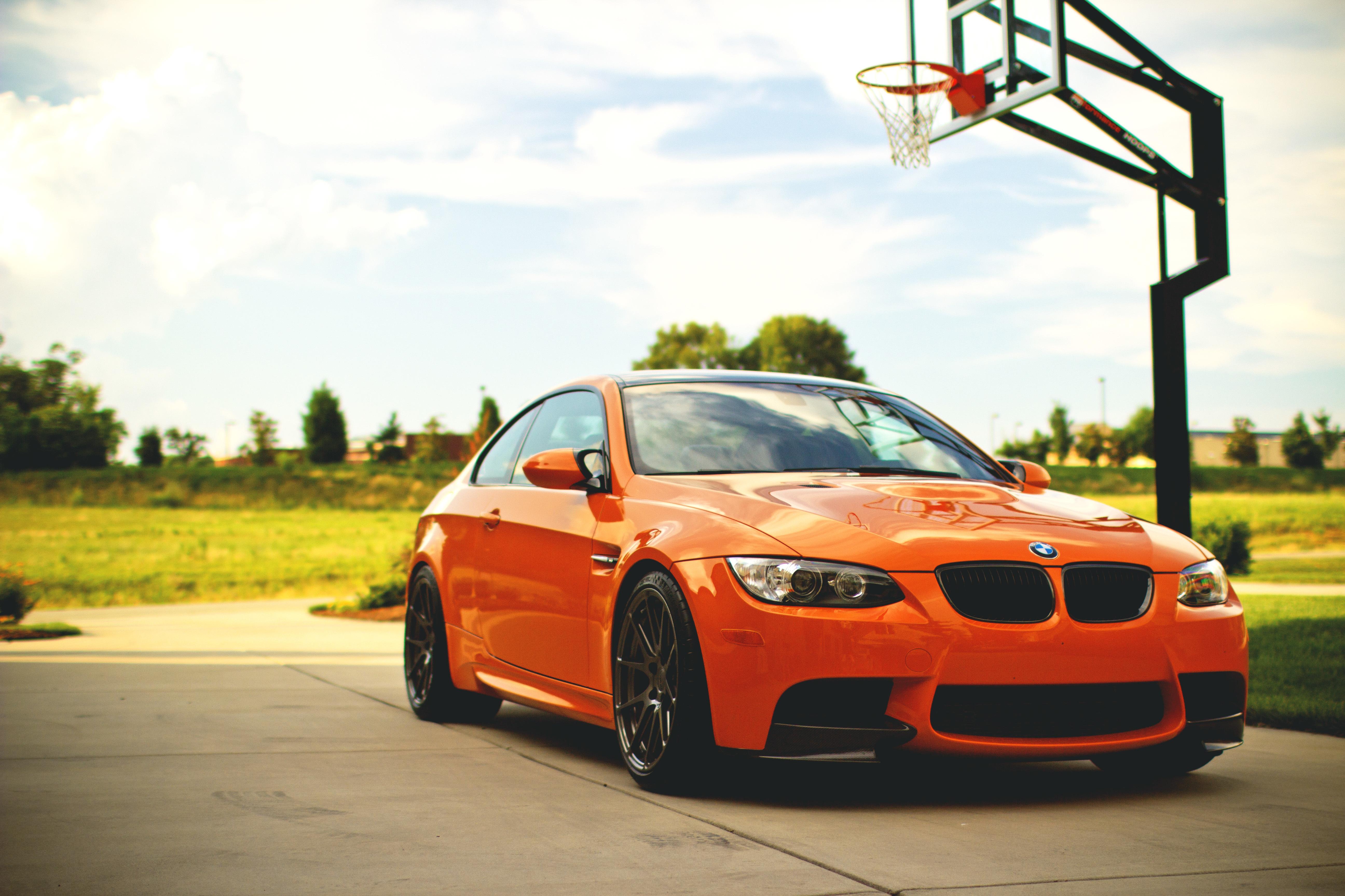 BMW перед оранжевая  № 843787 бесплатно