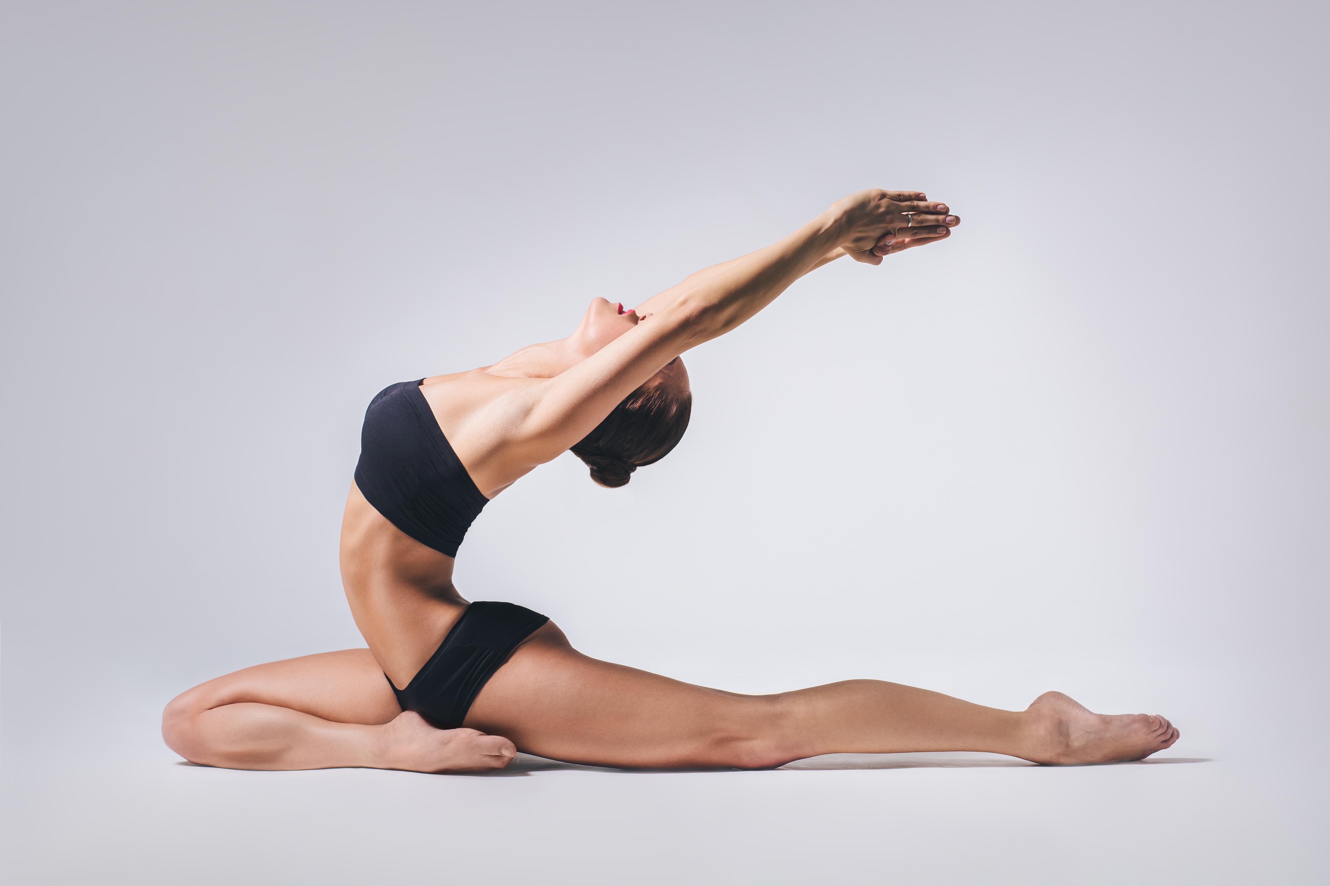 Йога похудение стройность