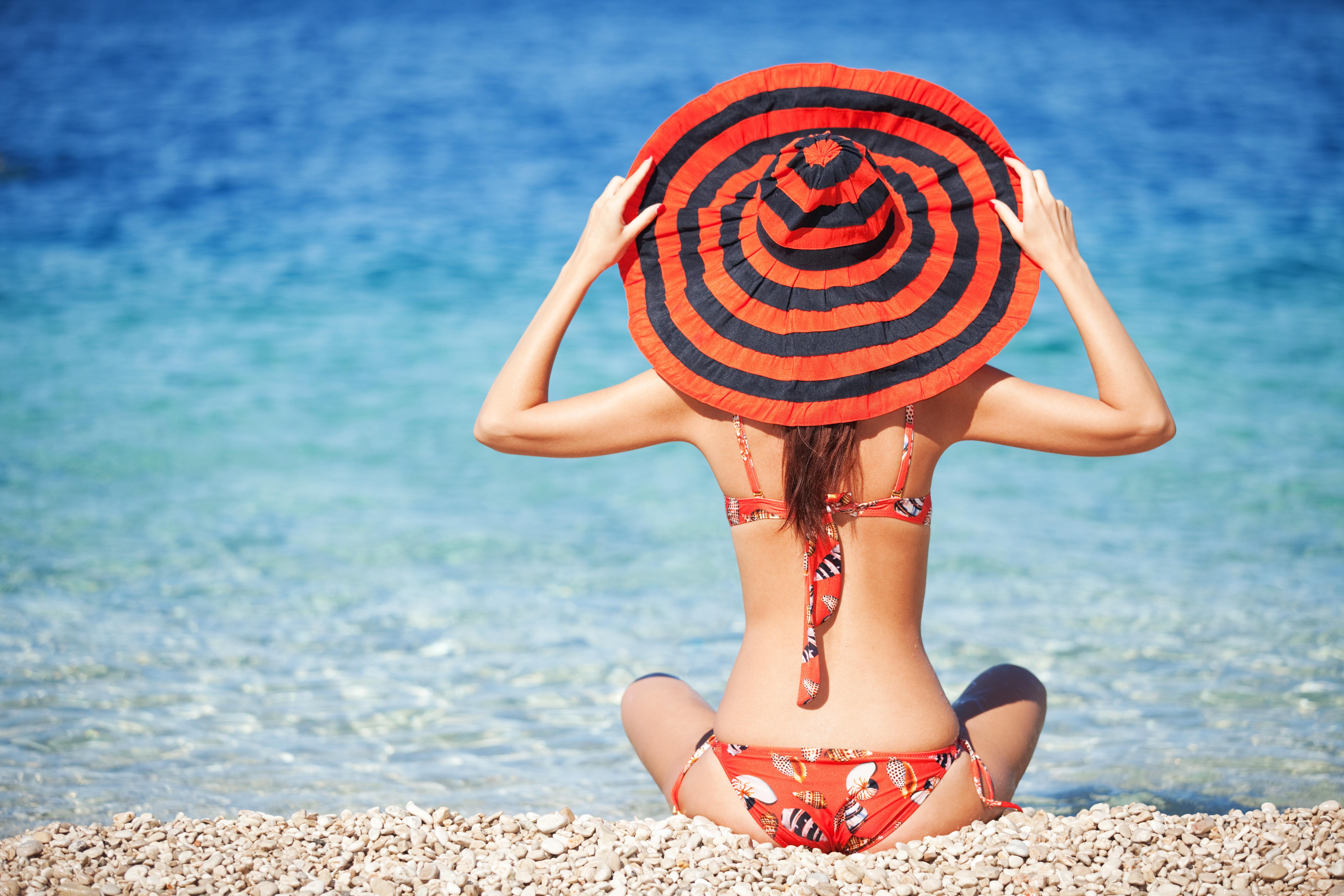 Идеи фото на пляже девушке