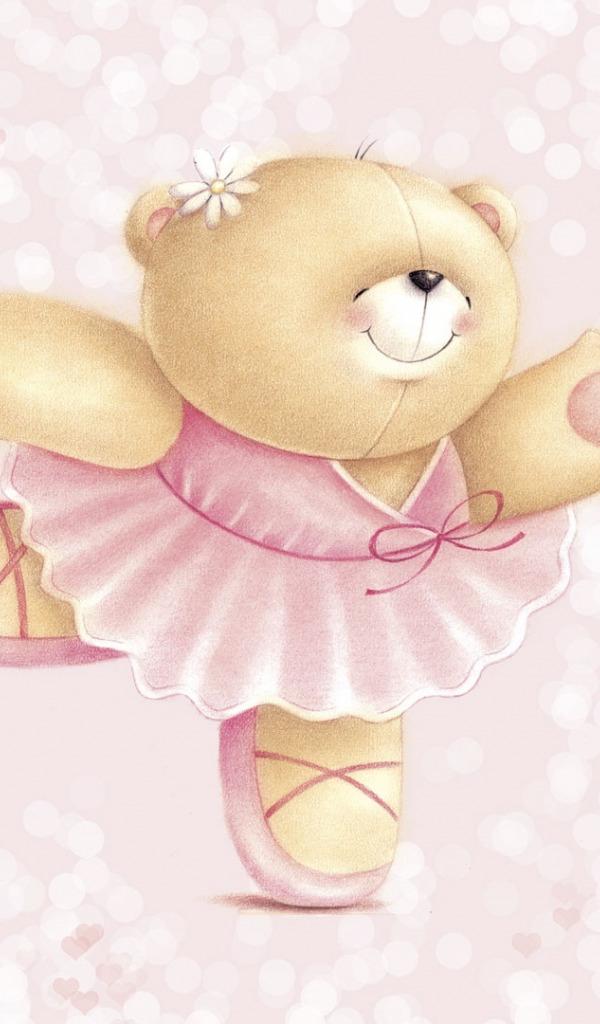 Смешные, картинки для девочек мишки