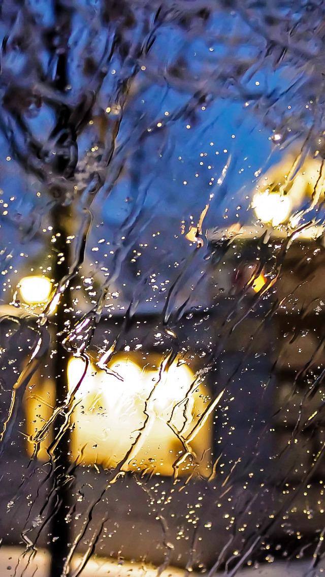 Картинки анимация на телефон с дождем