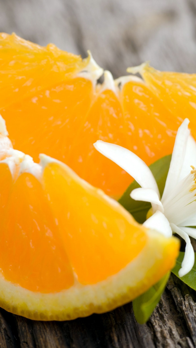 Апельсин цветы