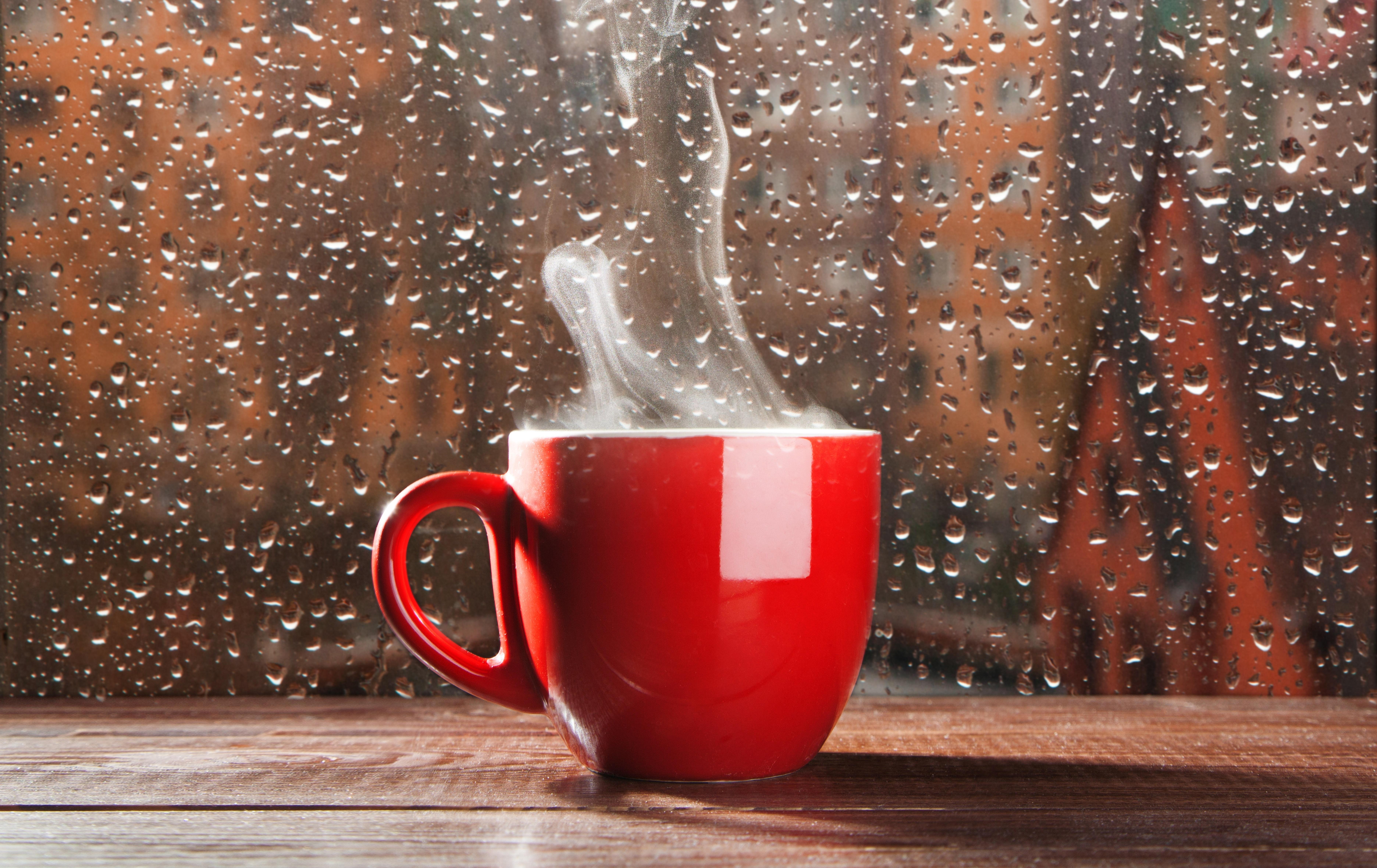 картинки дождь на улице с добрым утром картинки при