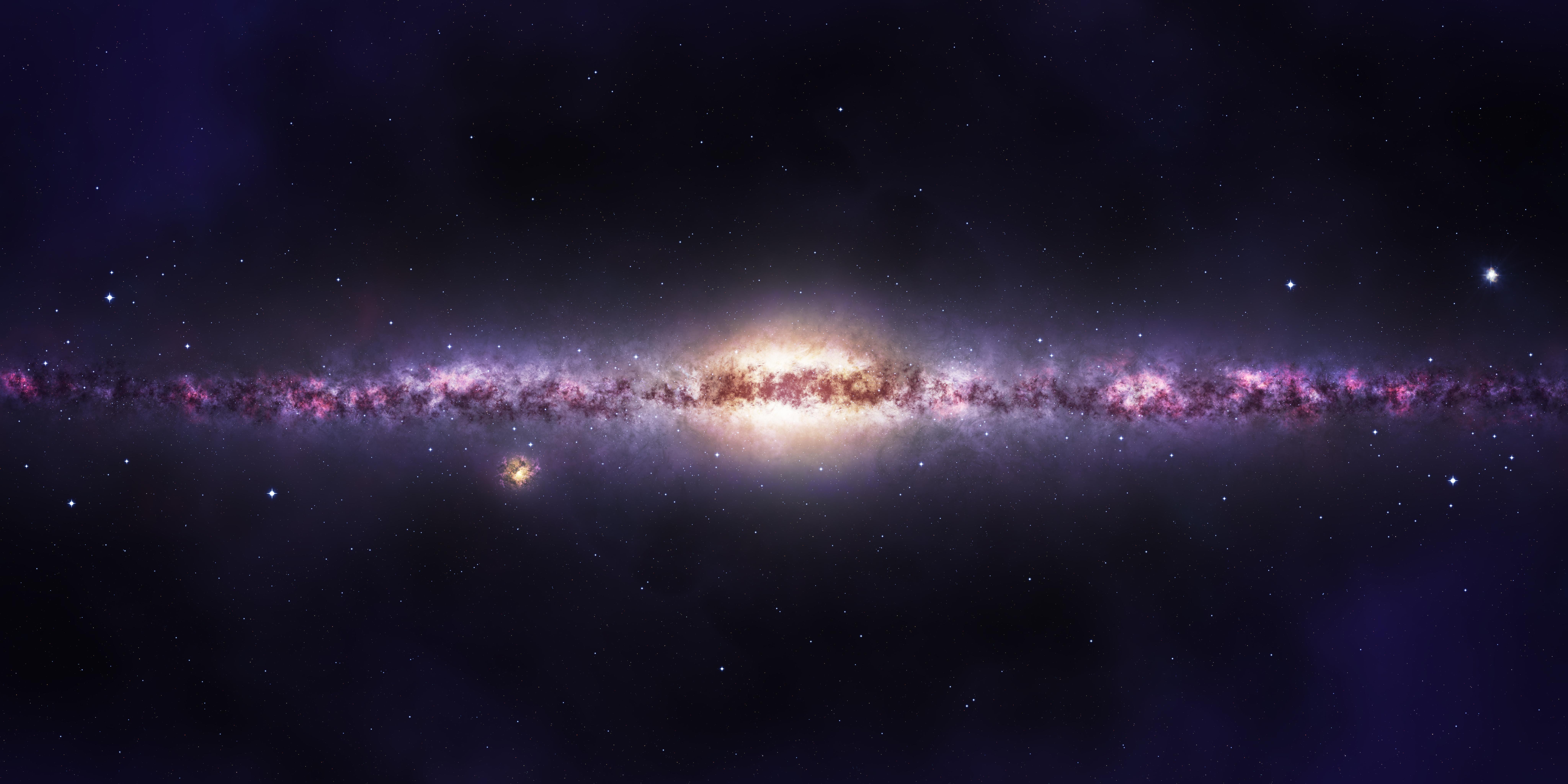 milky way galaxy - HD1920×1080