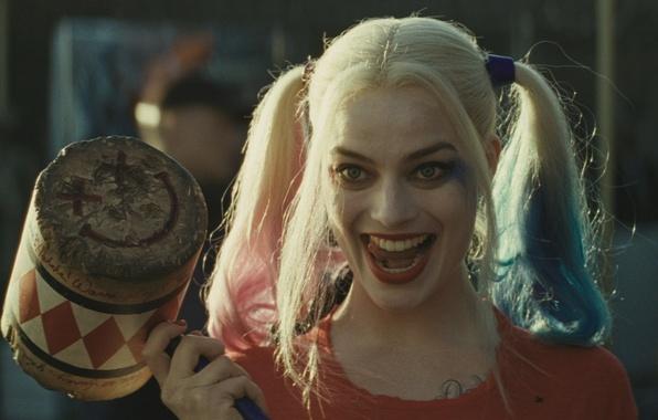 Картинка Харли Квинн, DC Comics, Harley Quinn, Suicide Squad, Отряд Самоубийц, Robbie Margot, Робби Марго